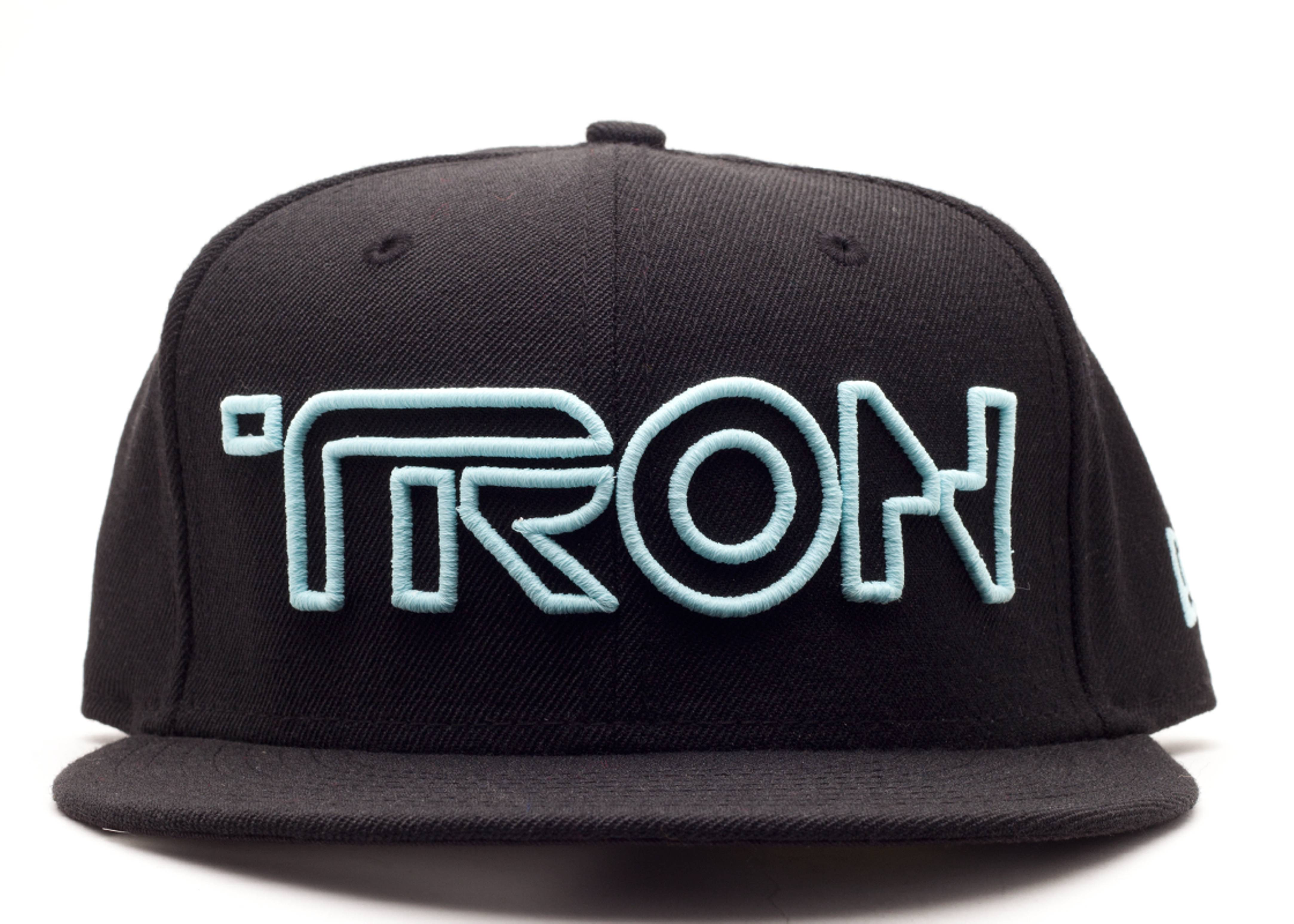 "tron fitted ""glow in the dark"""
