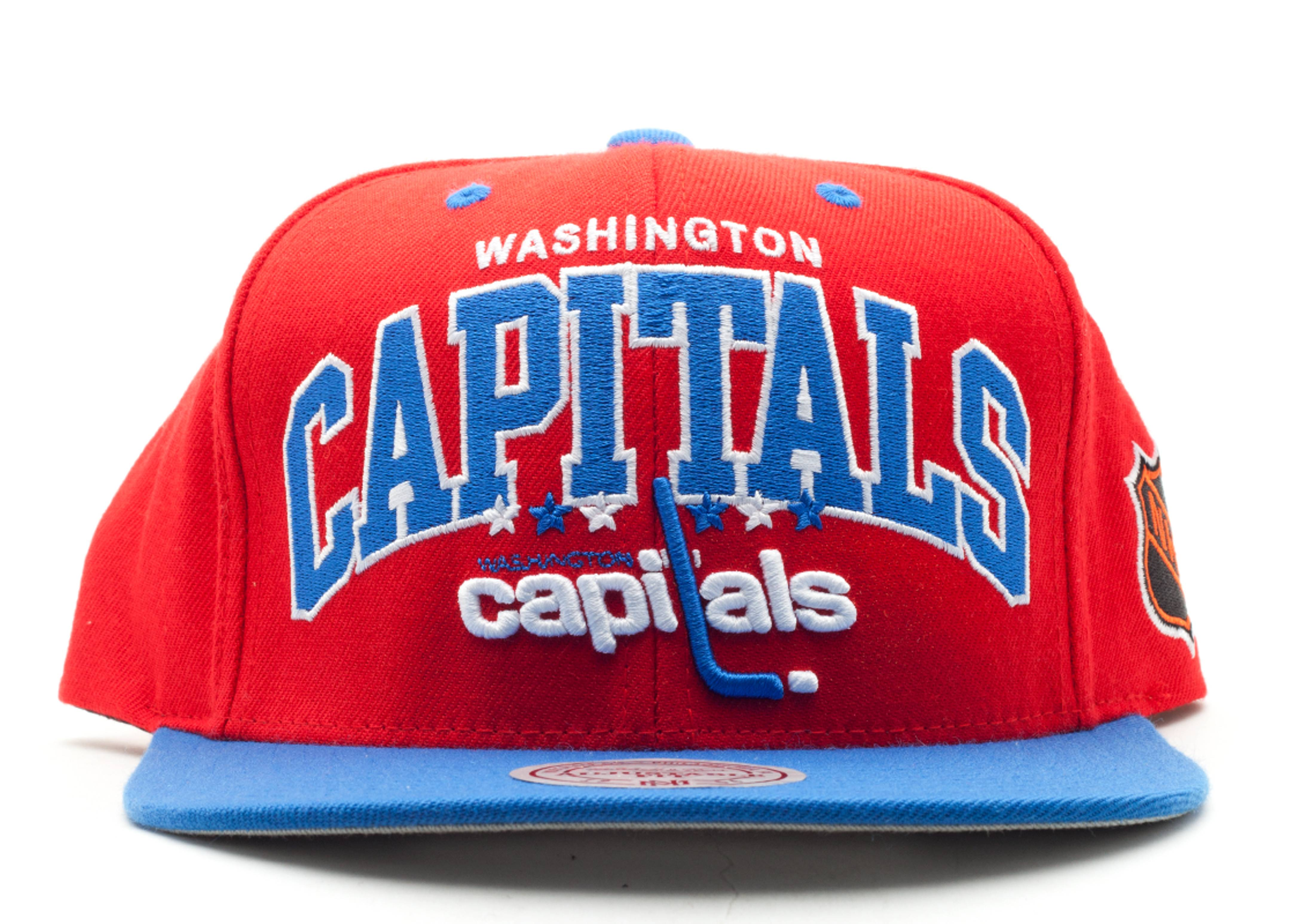 eashington captals snap-back