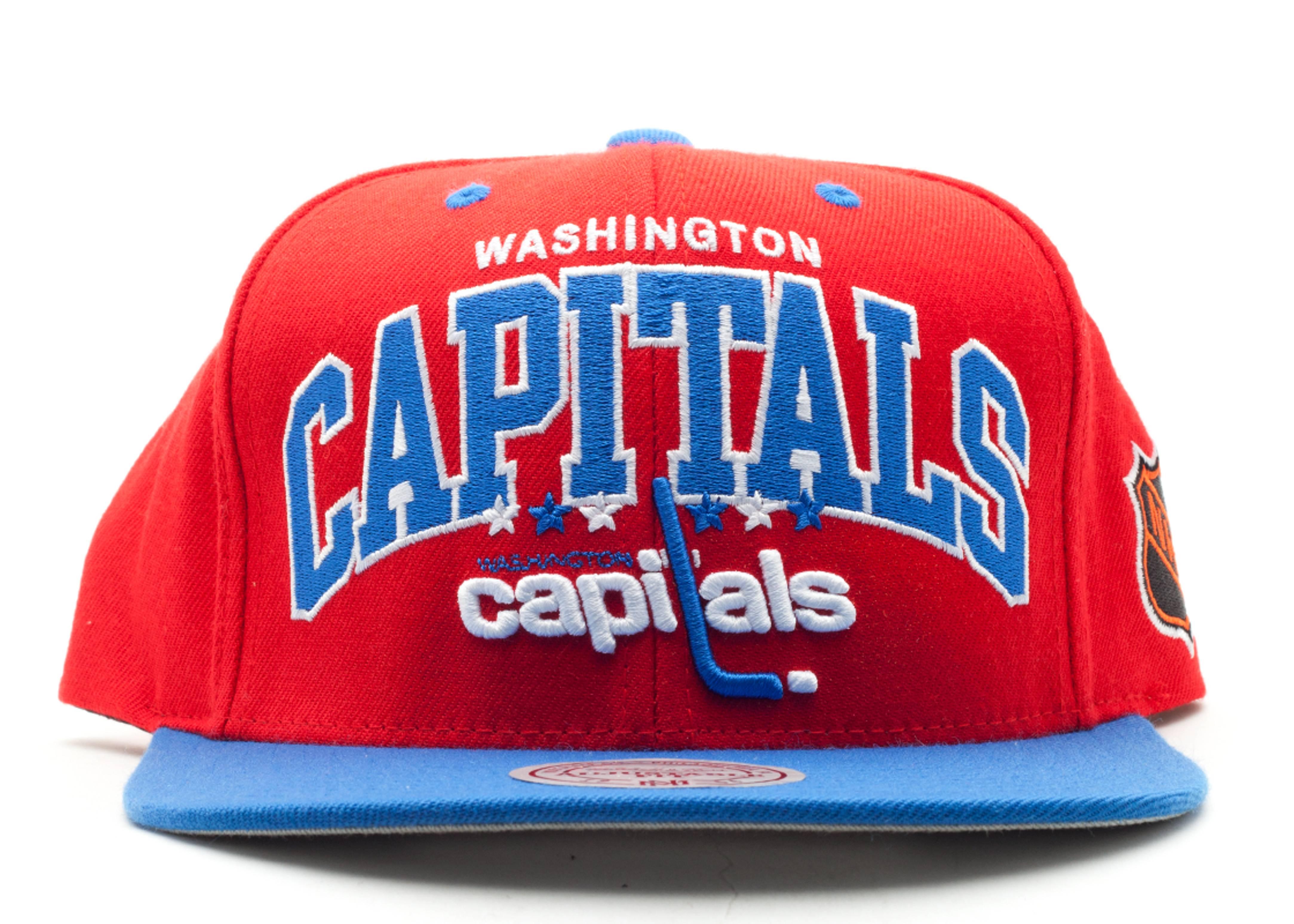 eashington captals snap-back
