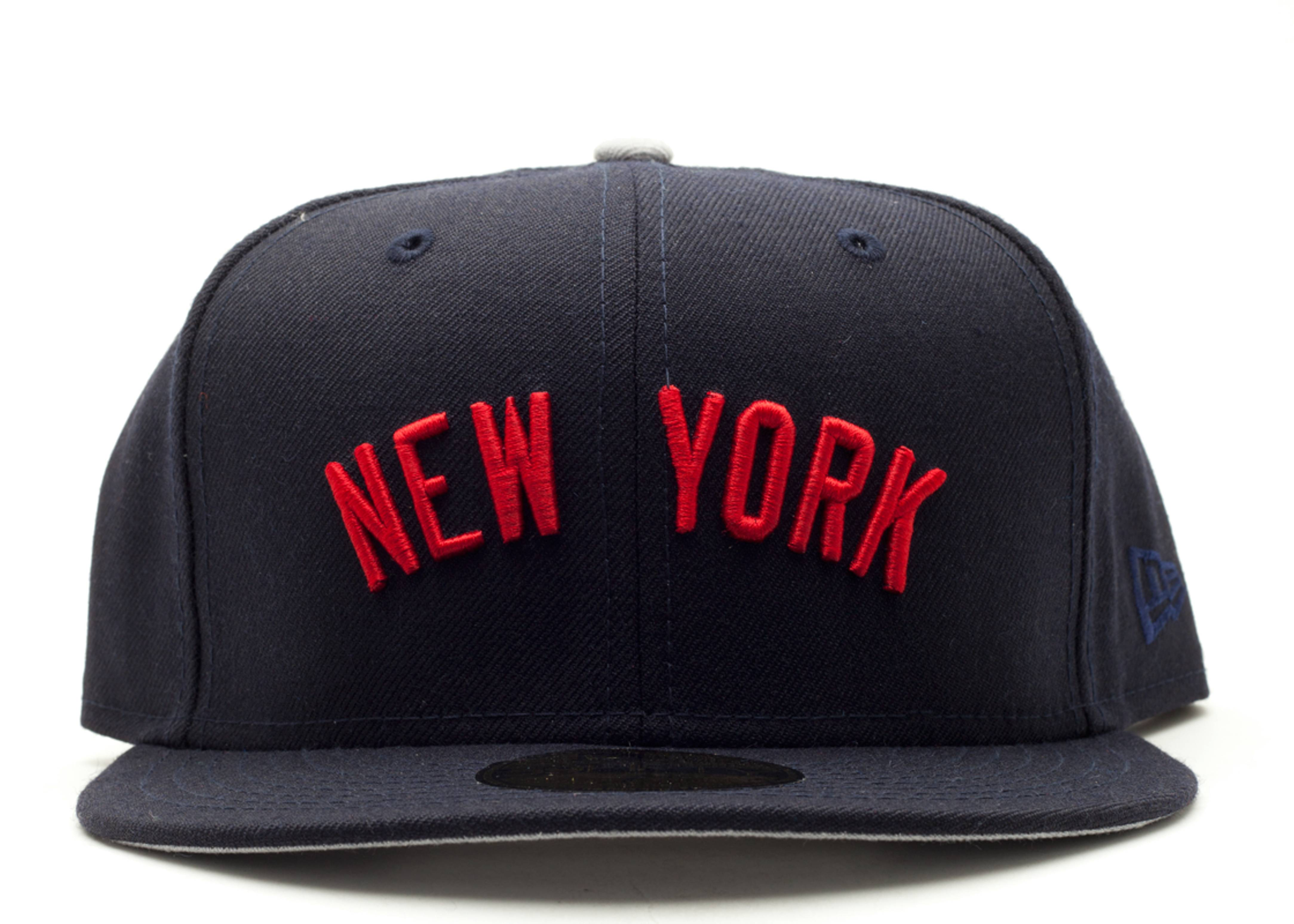 new york black yankees fitted