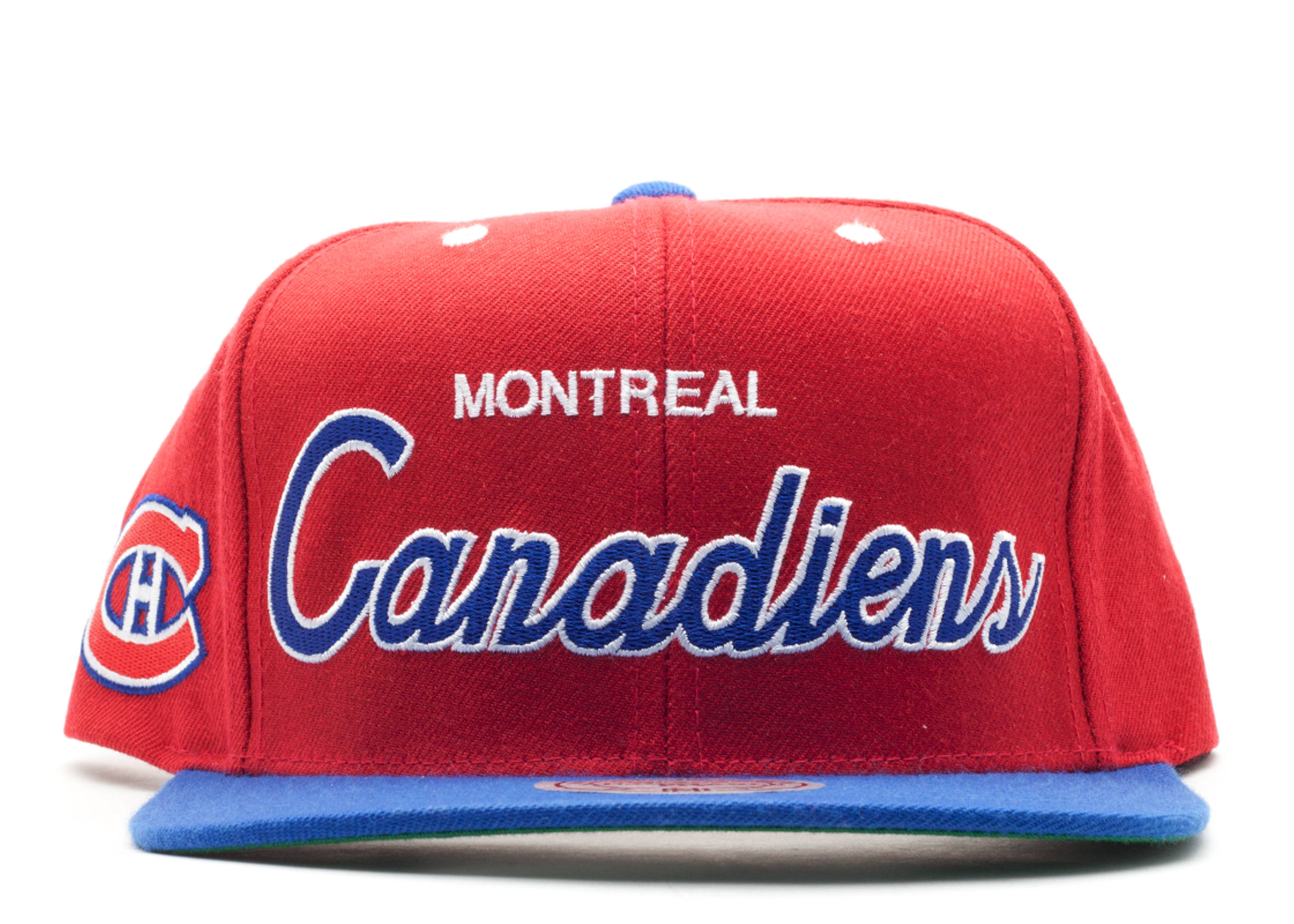 montreal canadiens snap-back