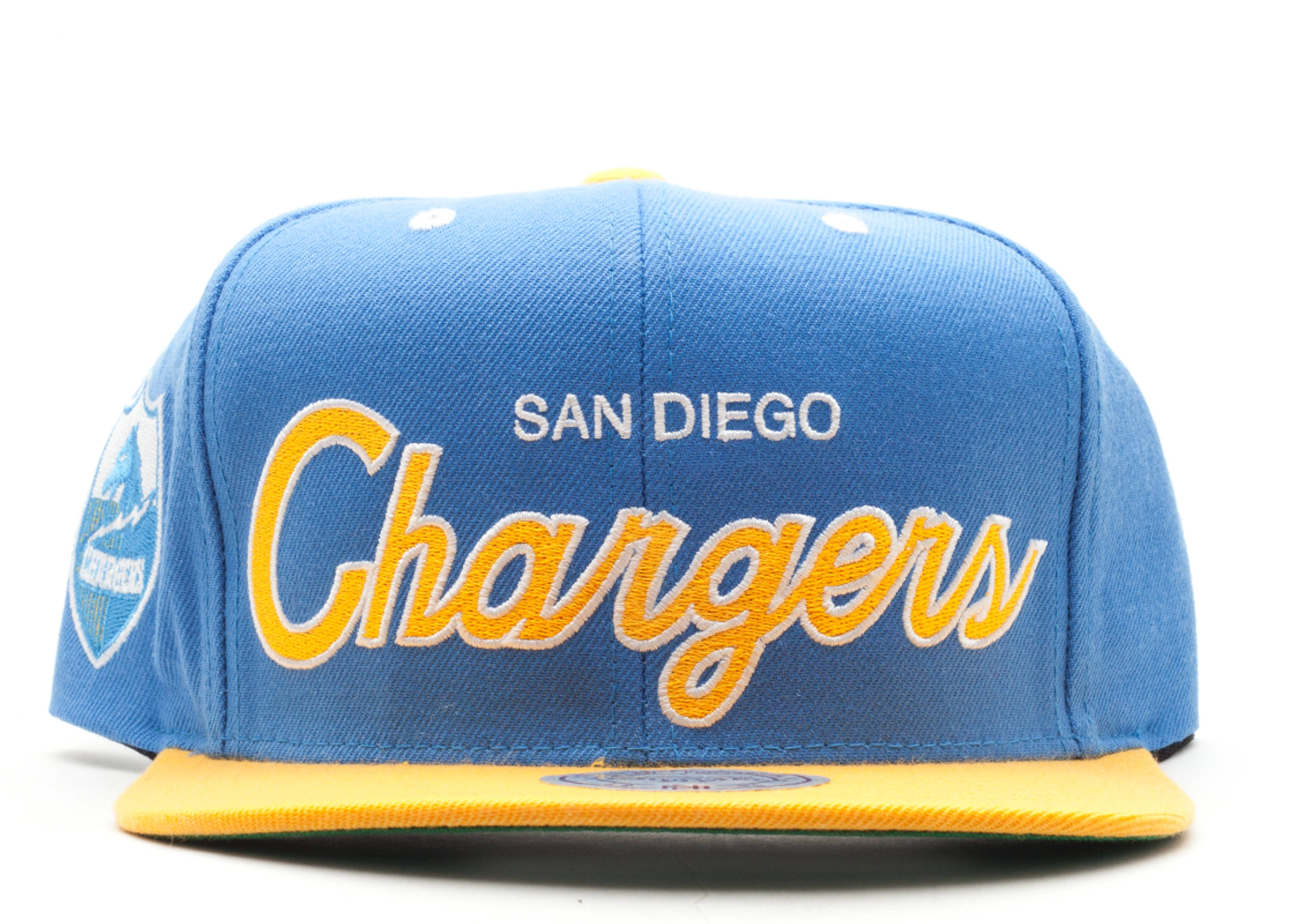 san diego chargers snap-back