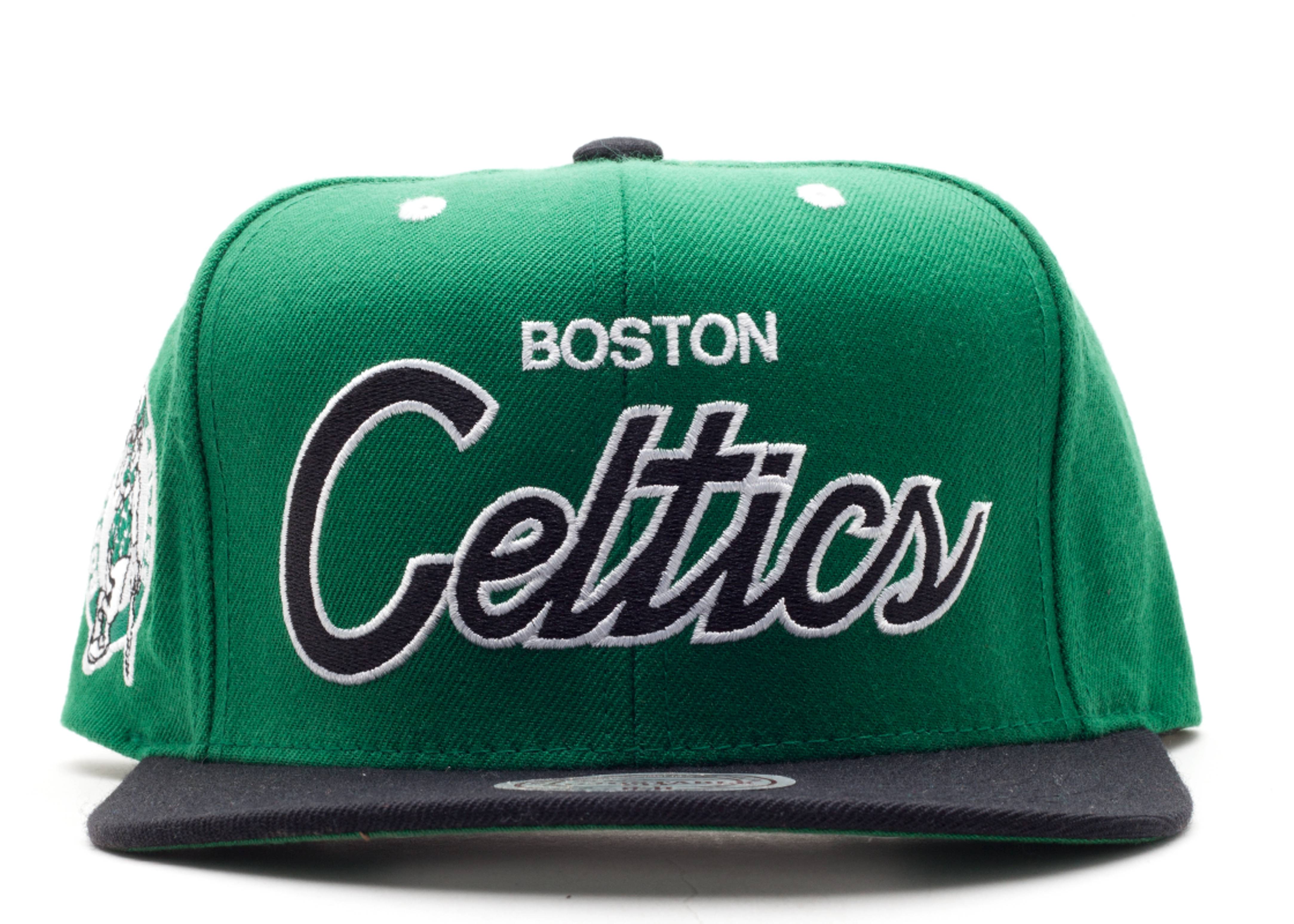 boston celtics snap-back