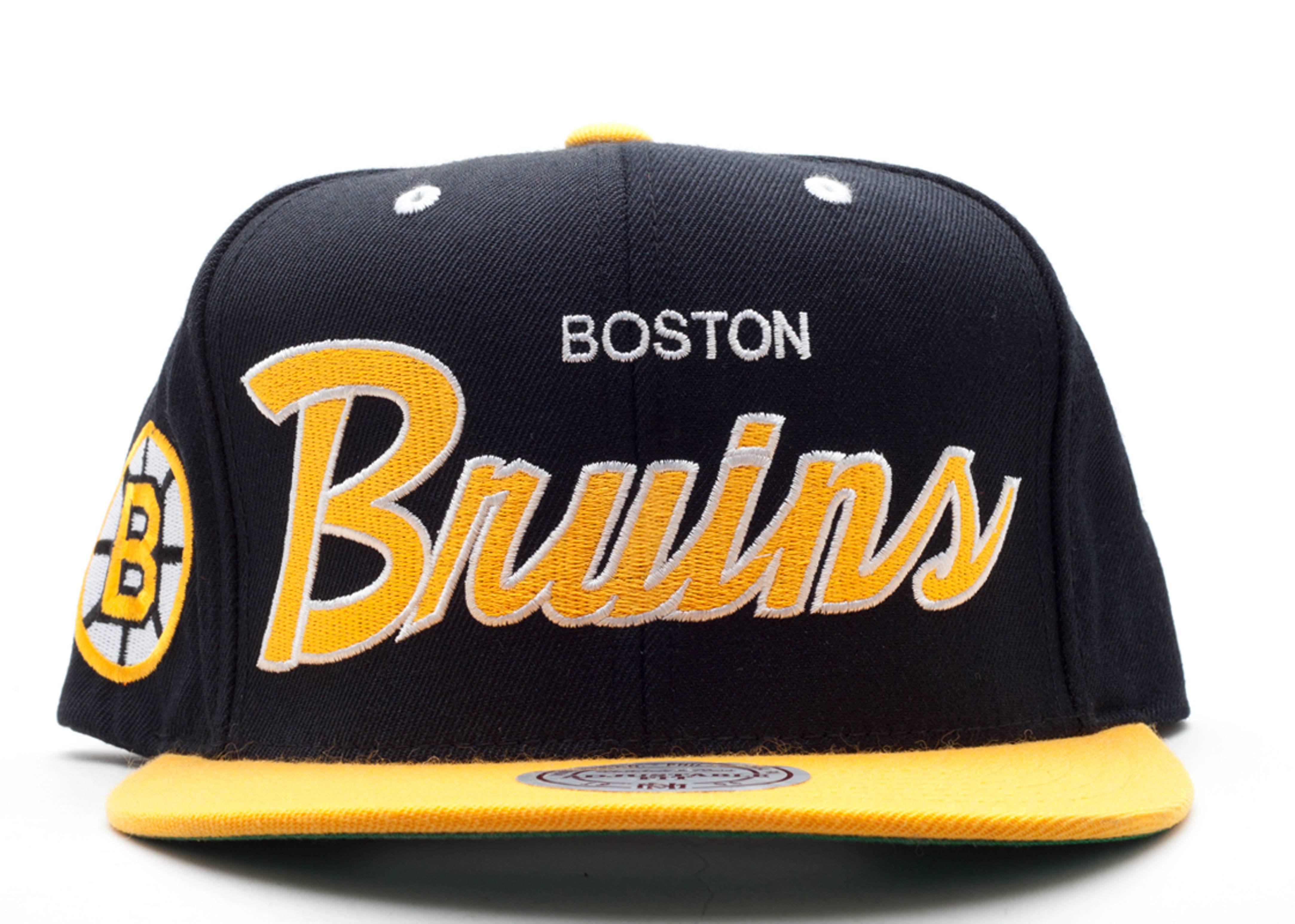 boston bruins snap-back