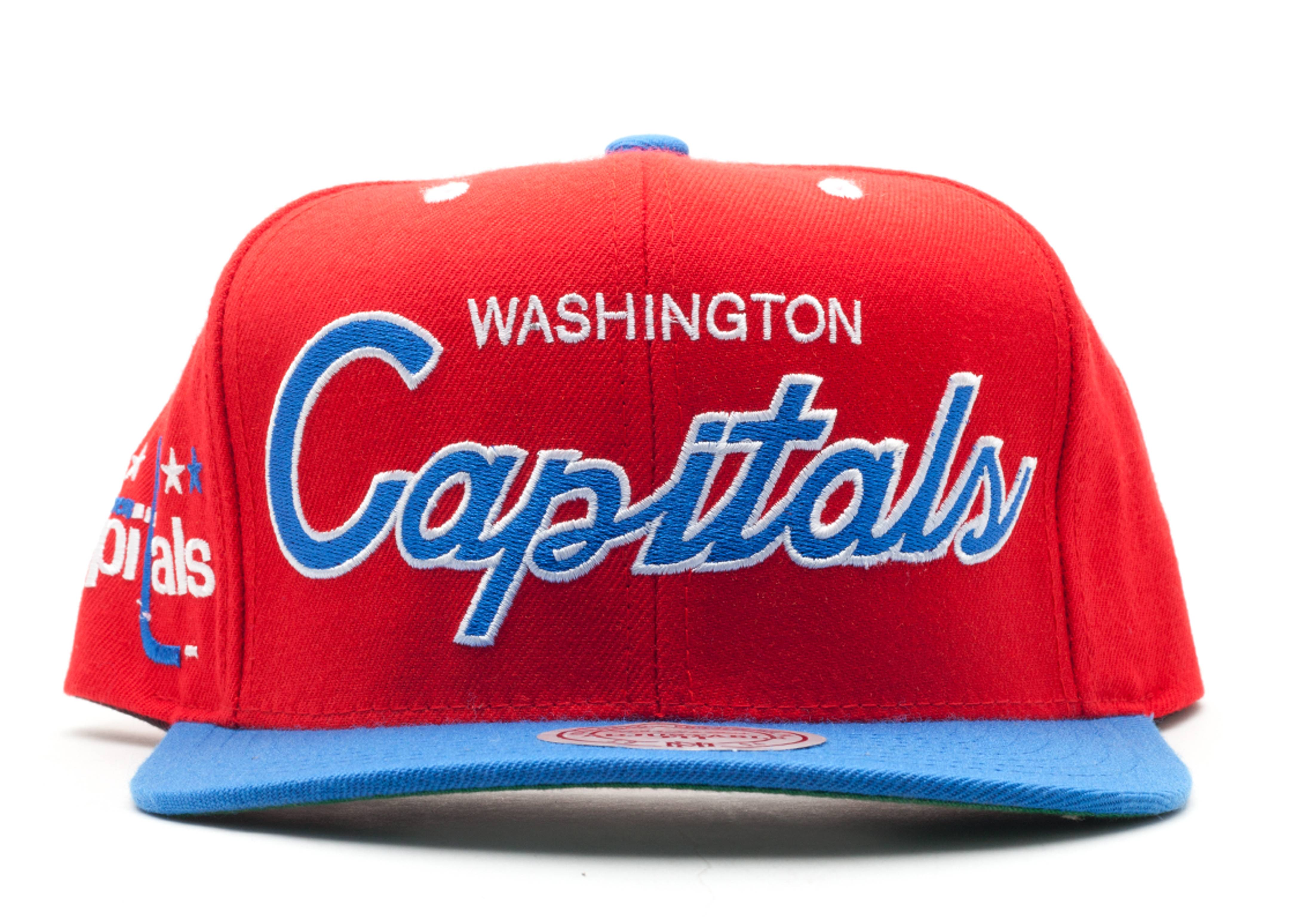 washington capitals snap-back