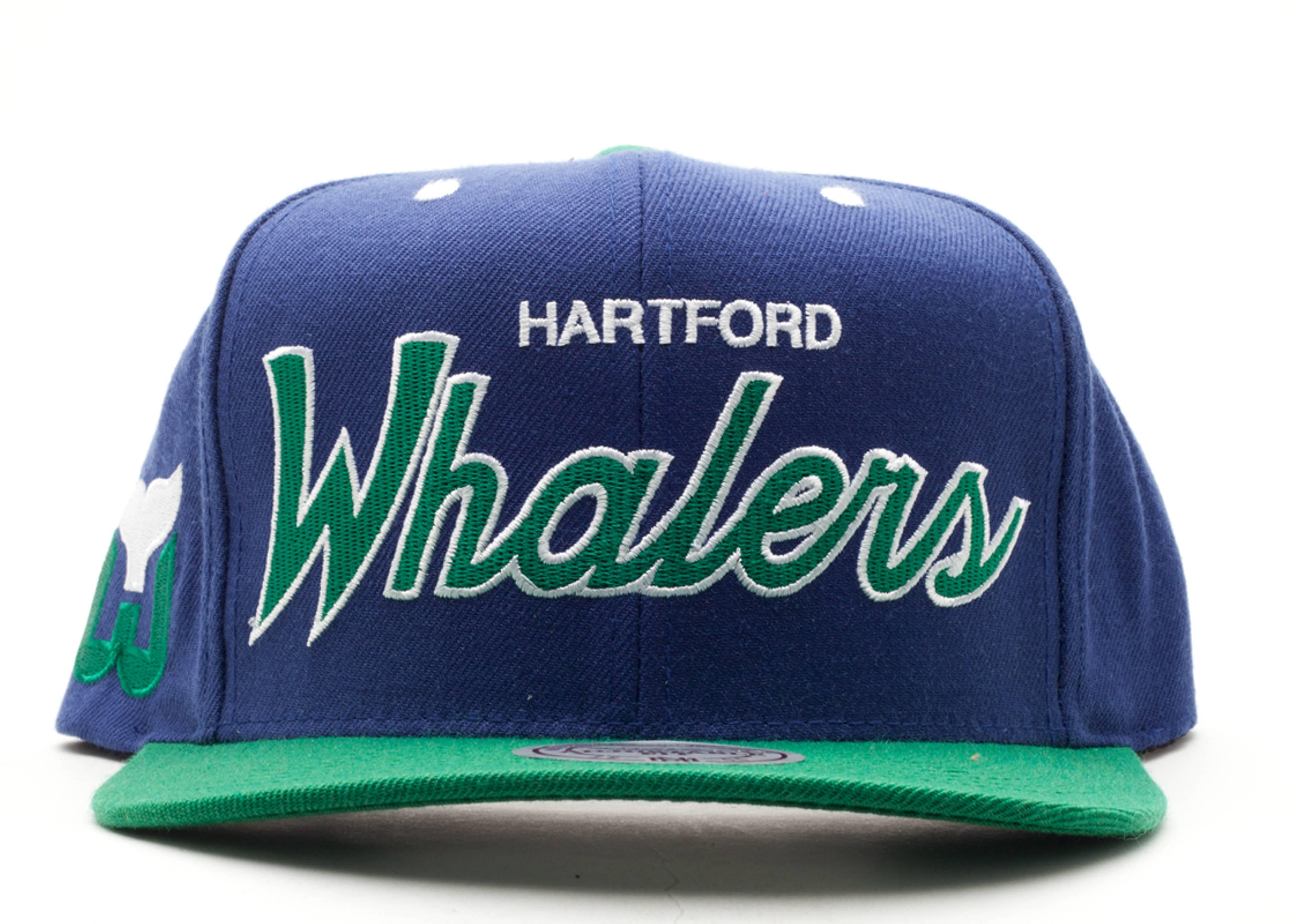 hartford whalers snap-back