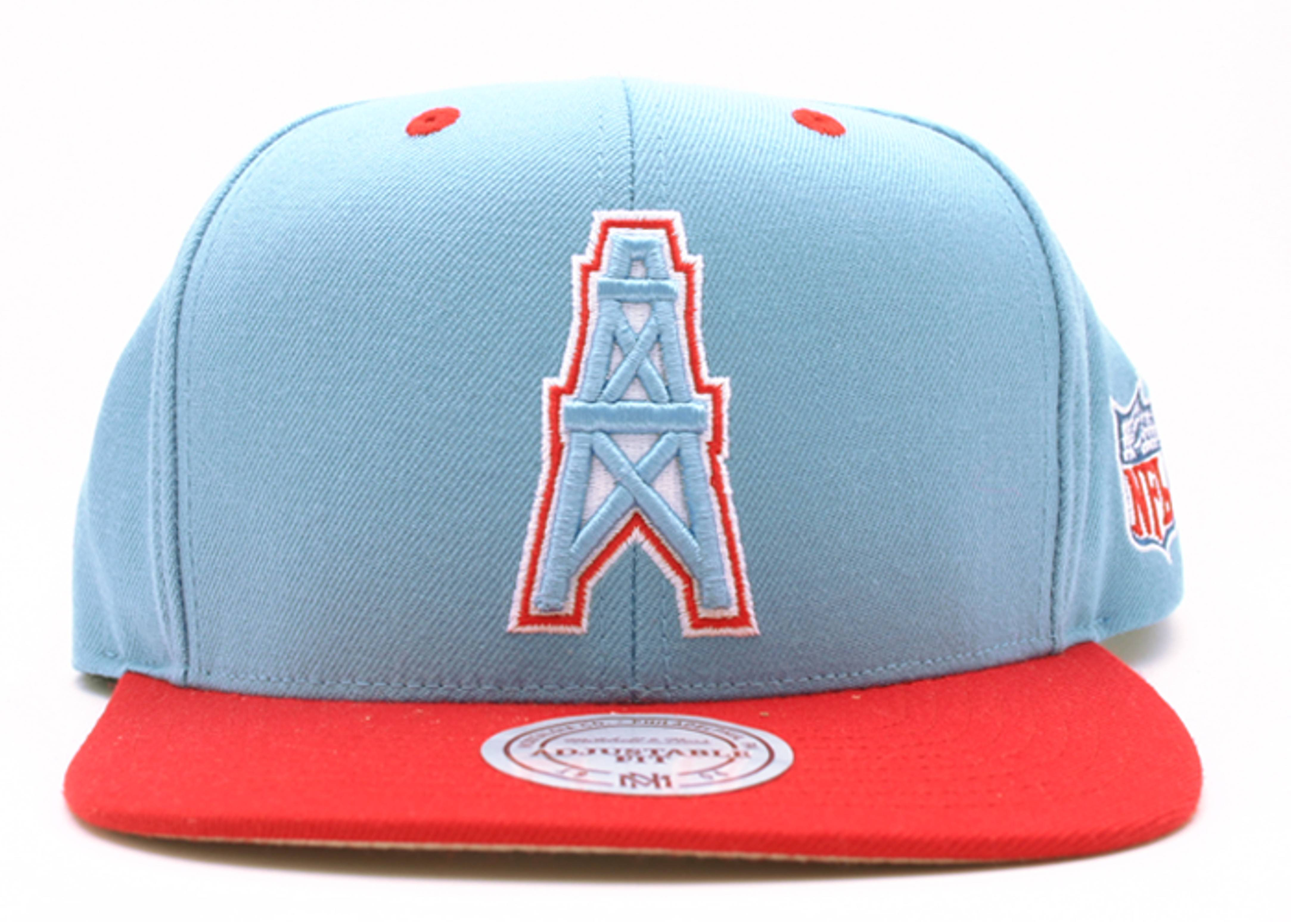 houston oilers snap-back