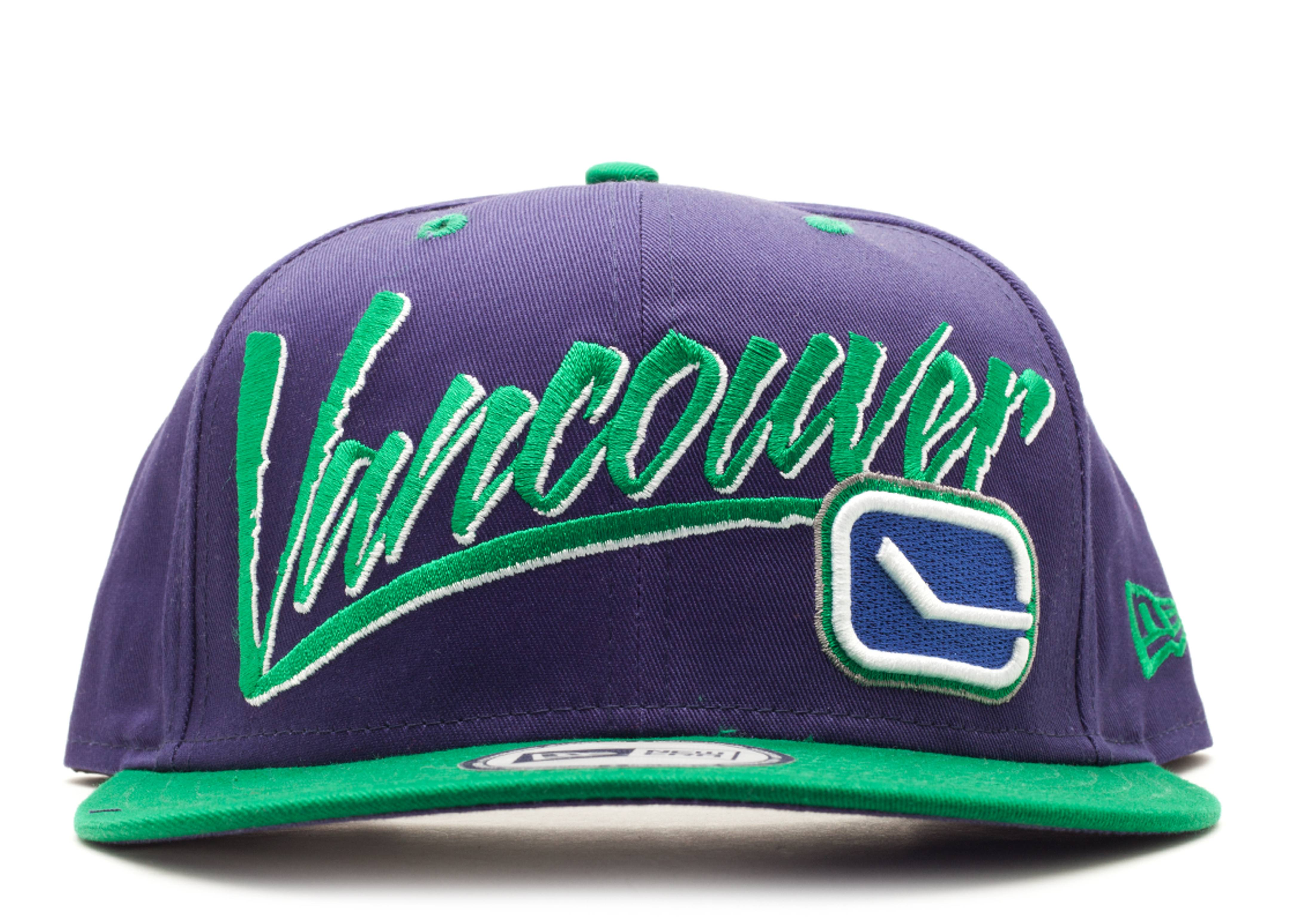 vancouver canuck snap-back