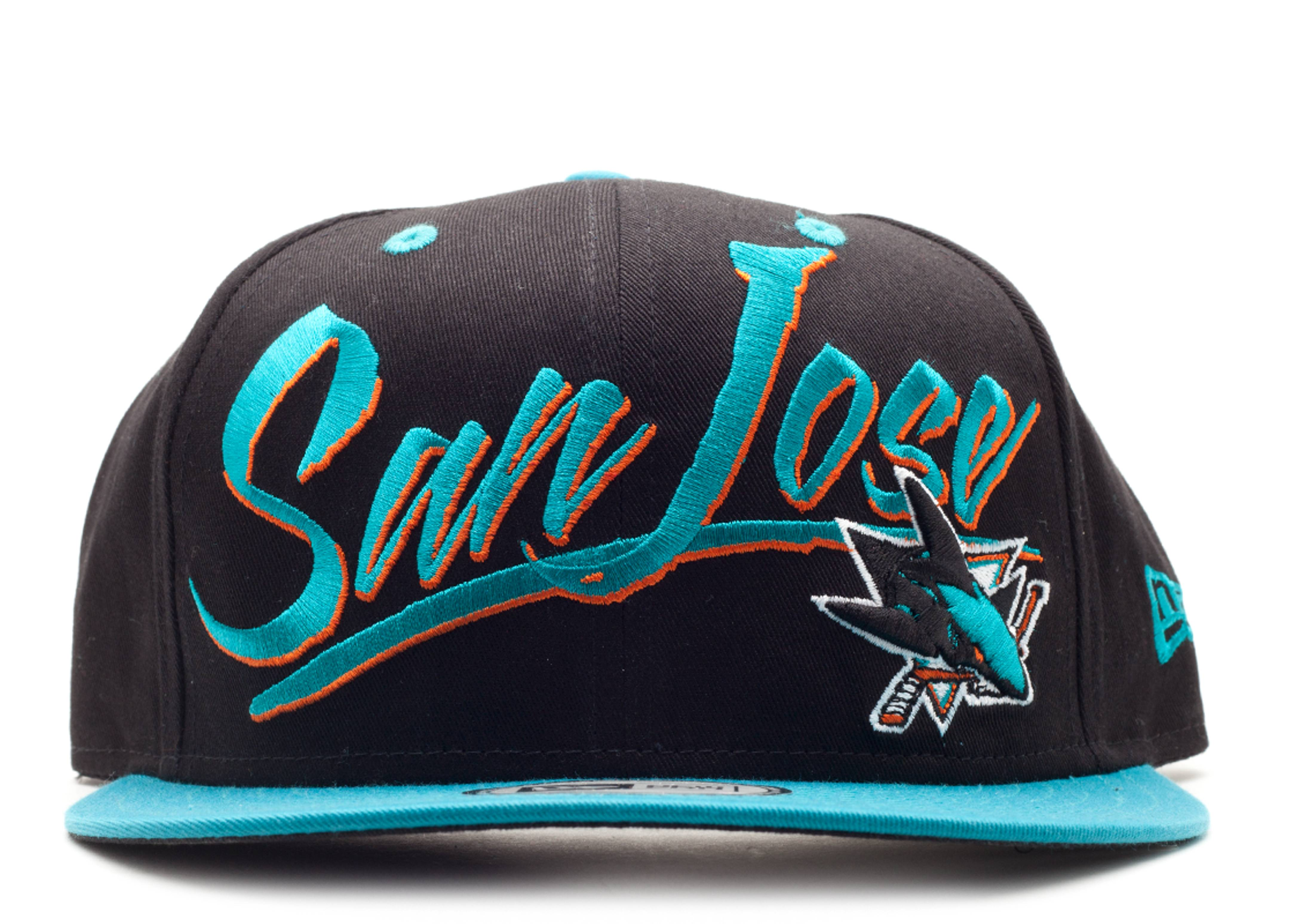 san jose sharks snap-back
