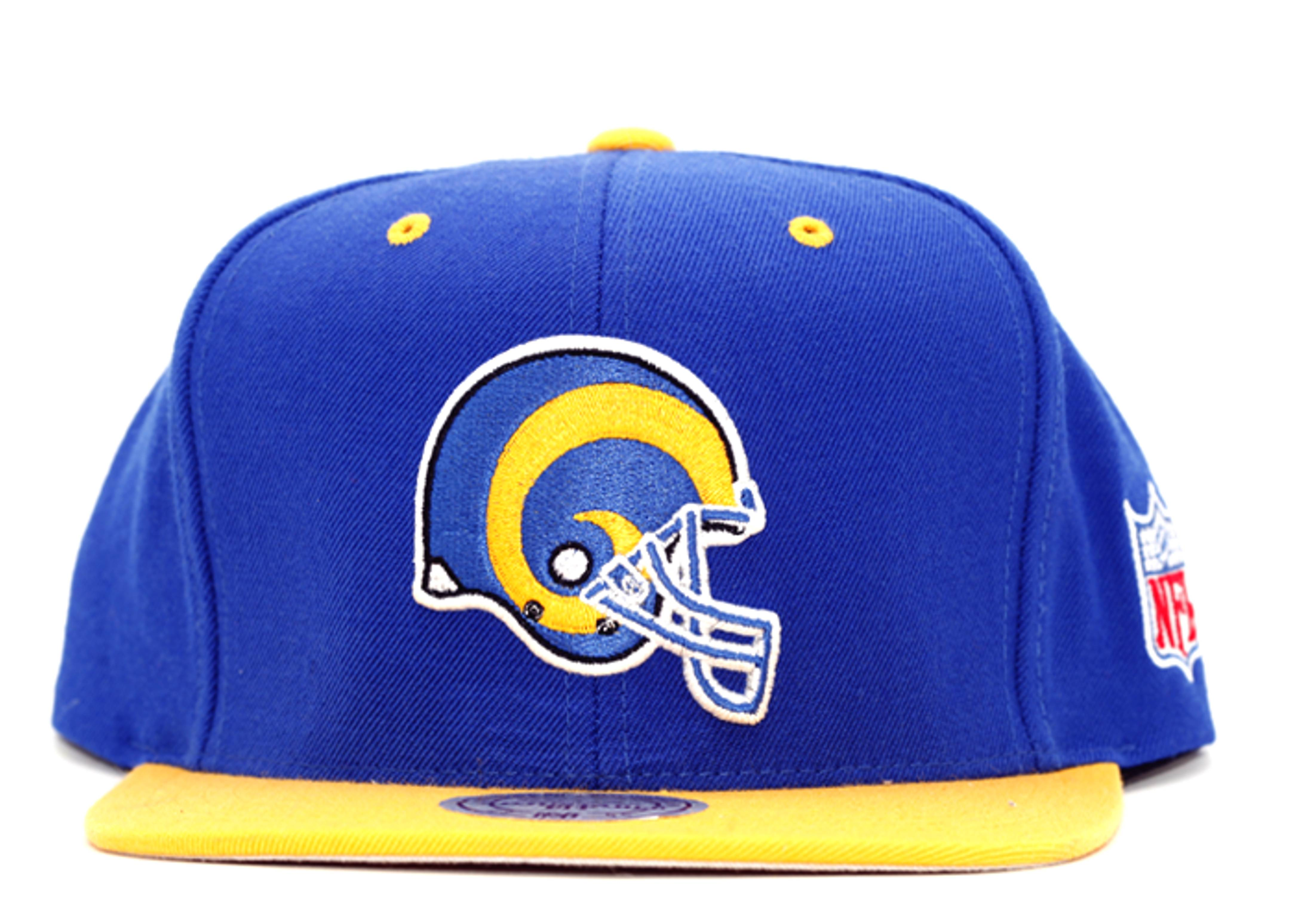 new styles 24979 ffd9f Los Angeles Rams Snap-back - Mitchell & Ness - nc97mtc6rams ...