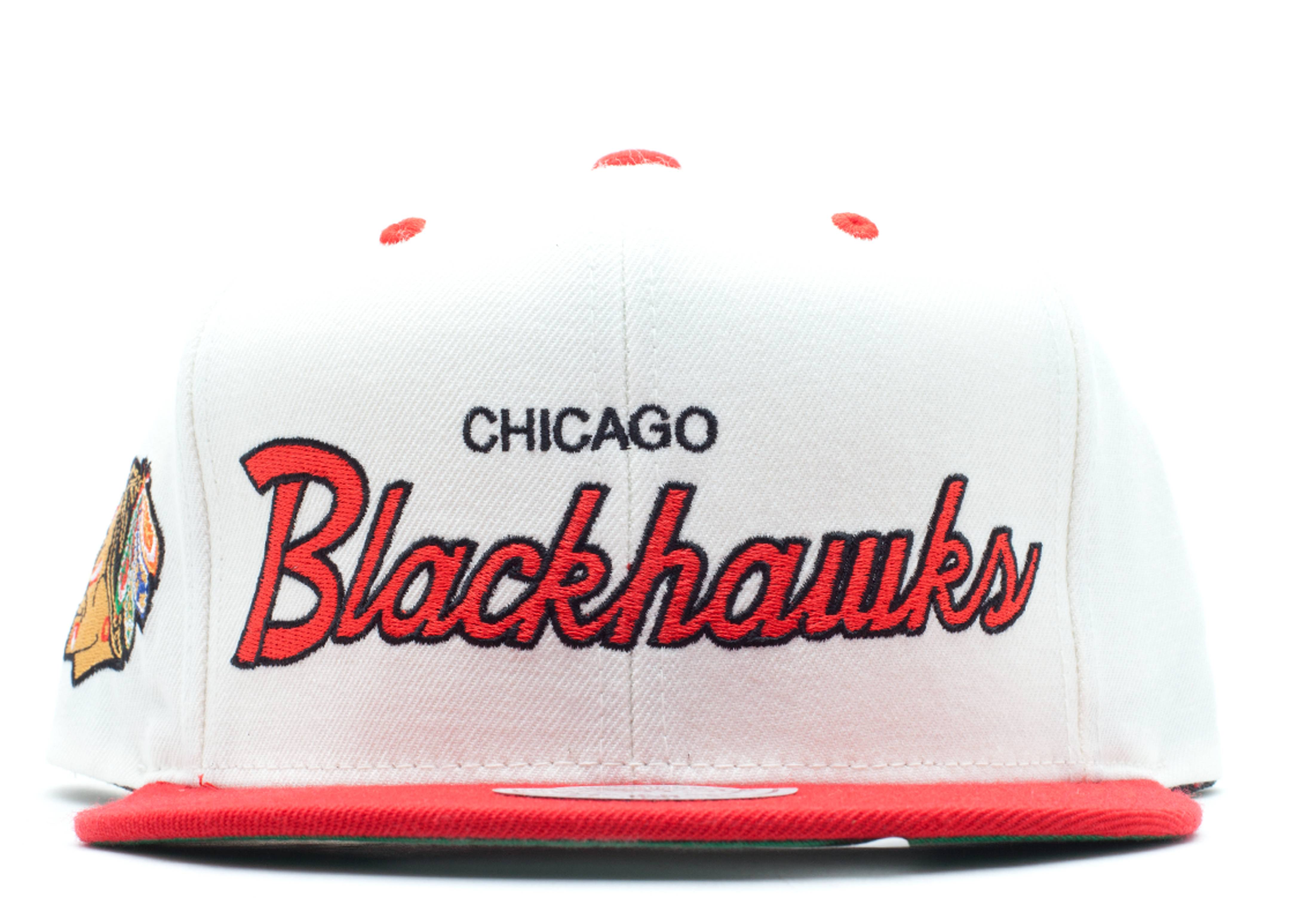 chicago blackhawks snap-back