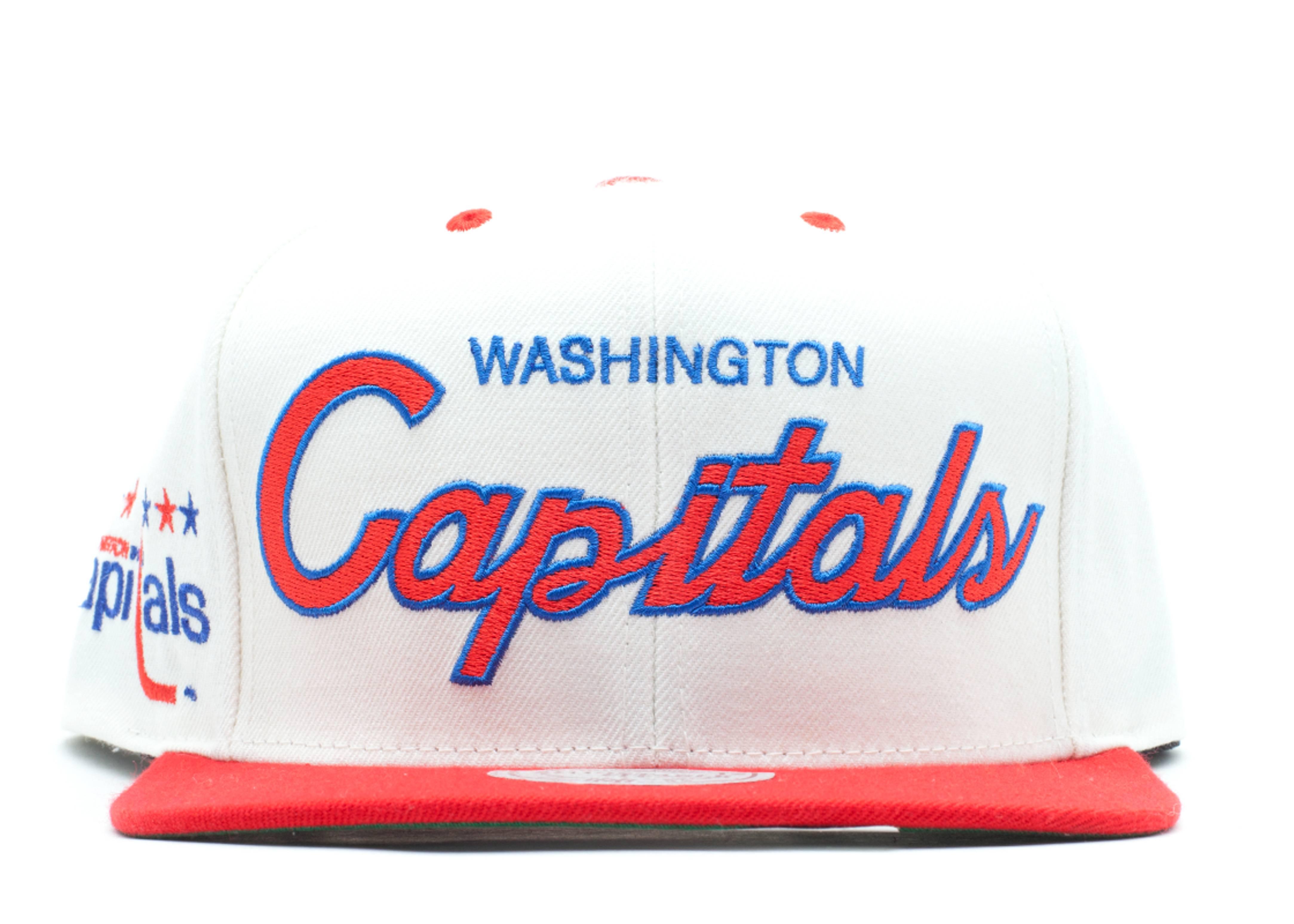 washington capitals snap-back