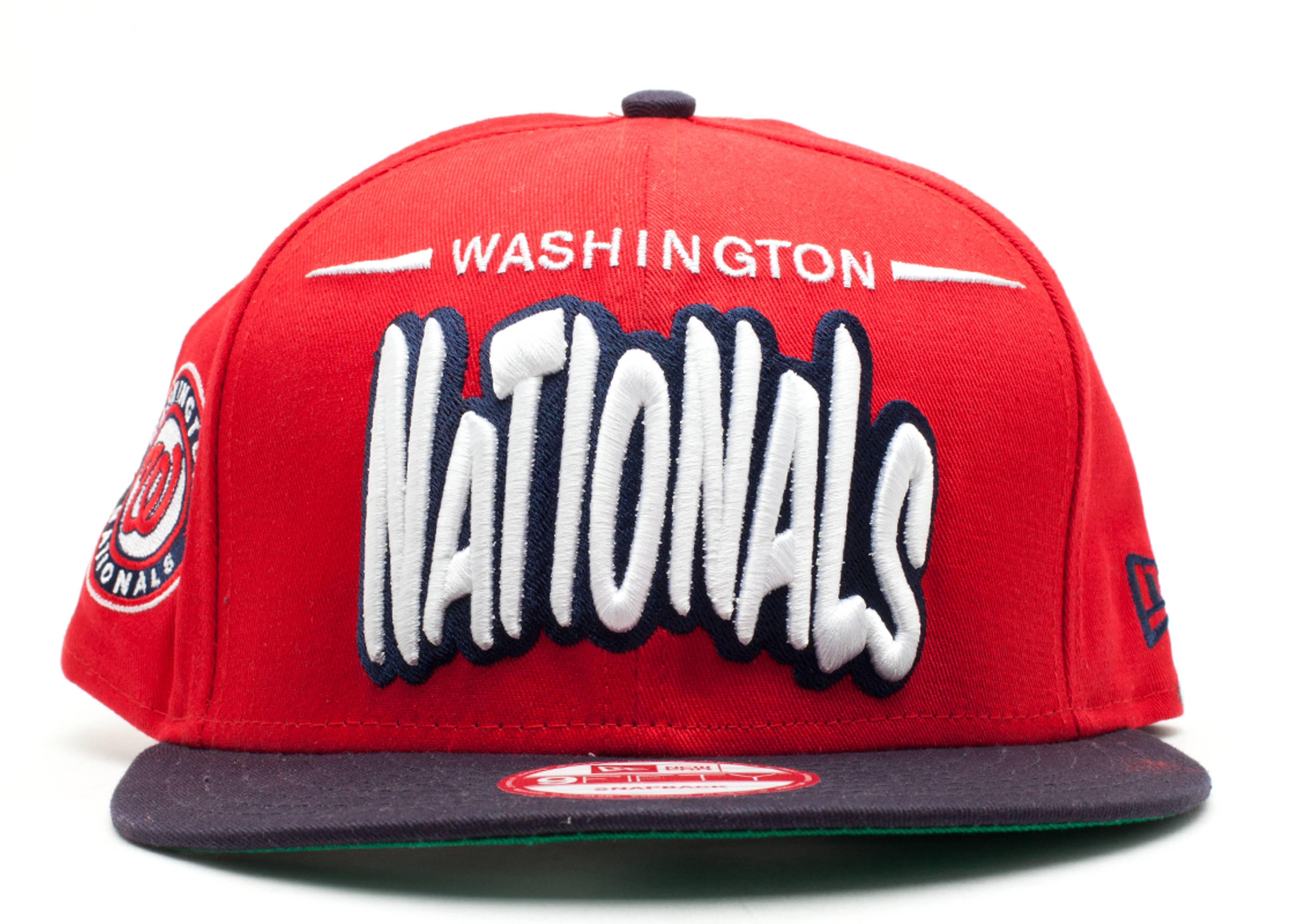 """washington nationals snap-back """"funky dope"""""""