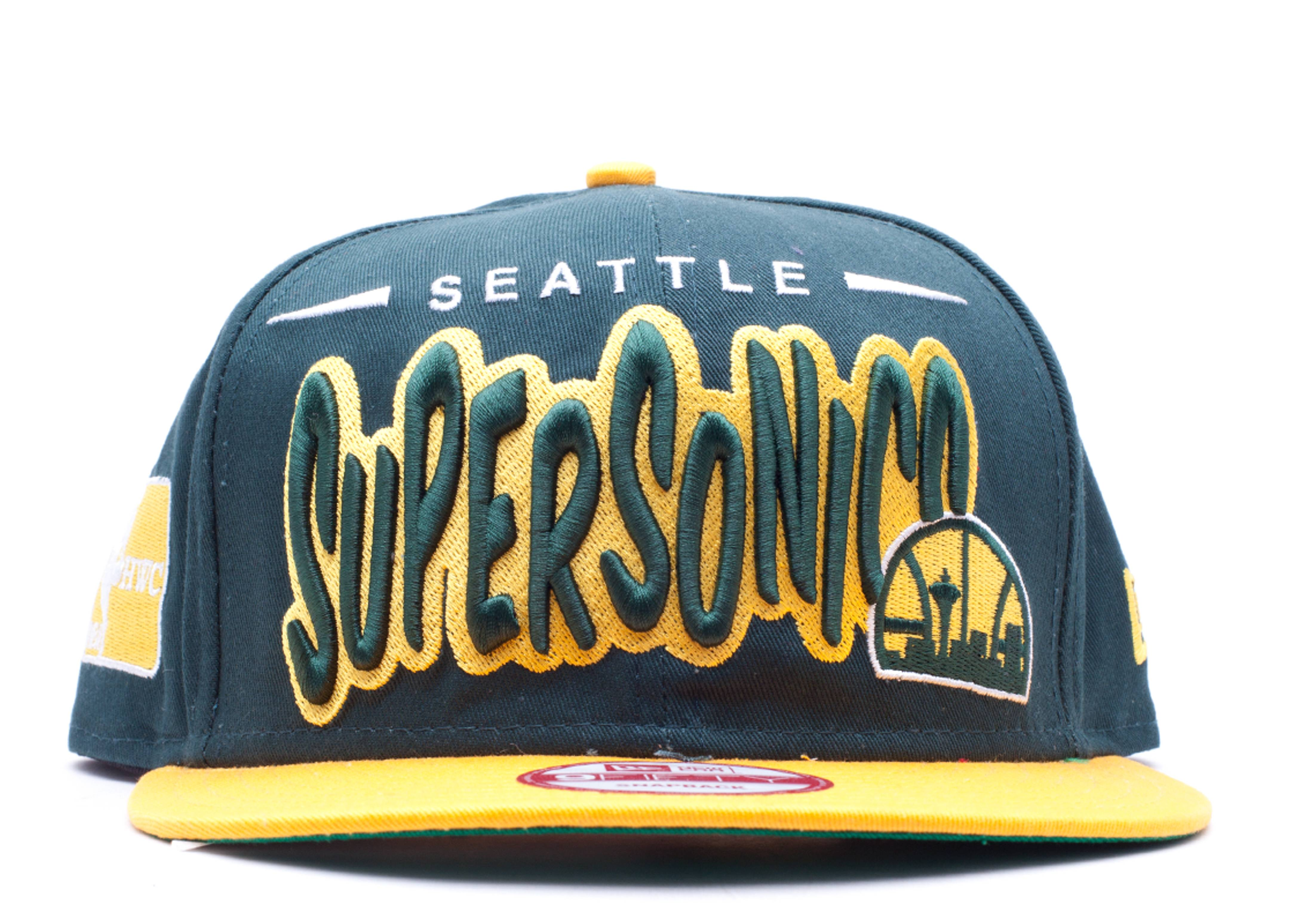 "seattle supersonics snap-back ""funky dope"""