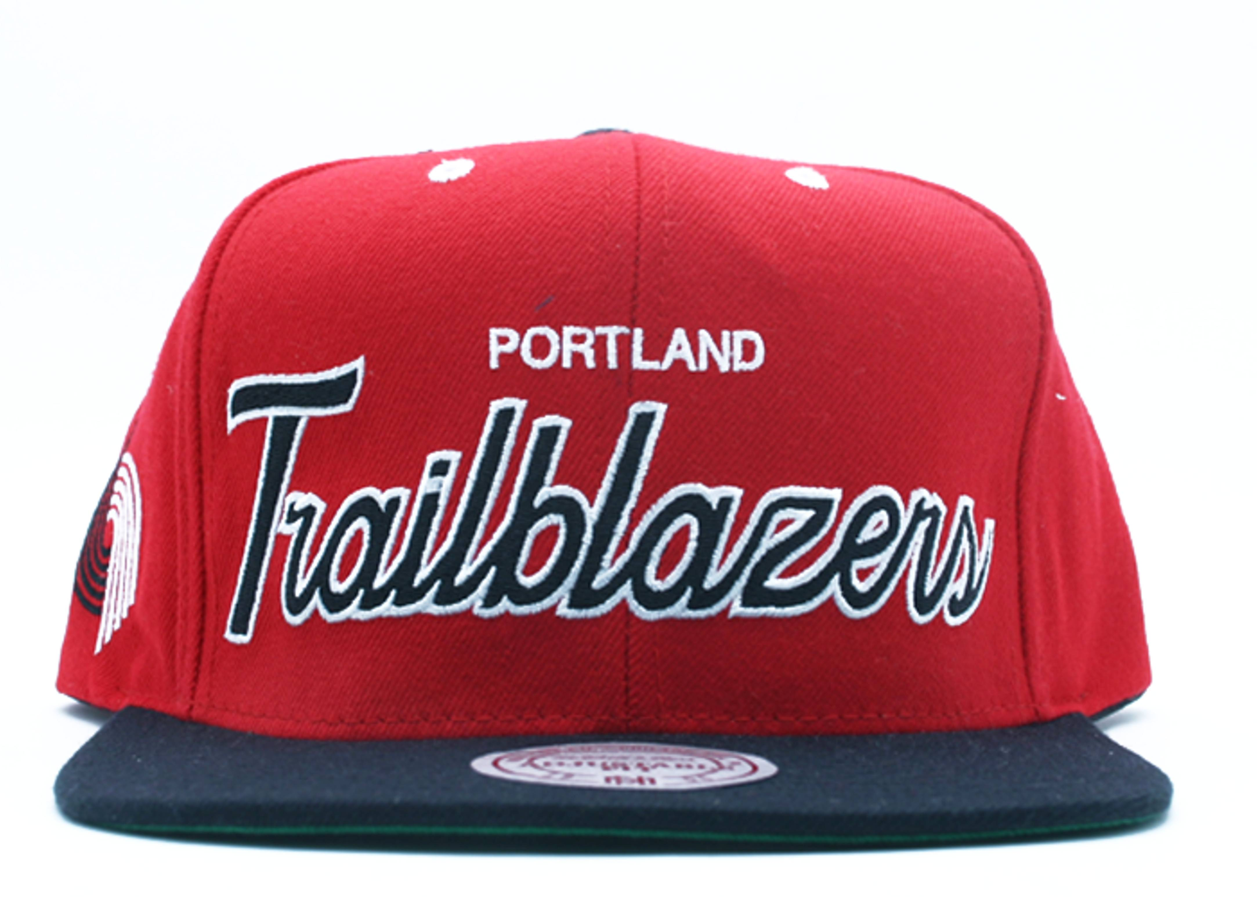 portland trailblazers snap-back