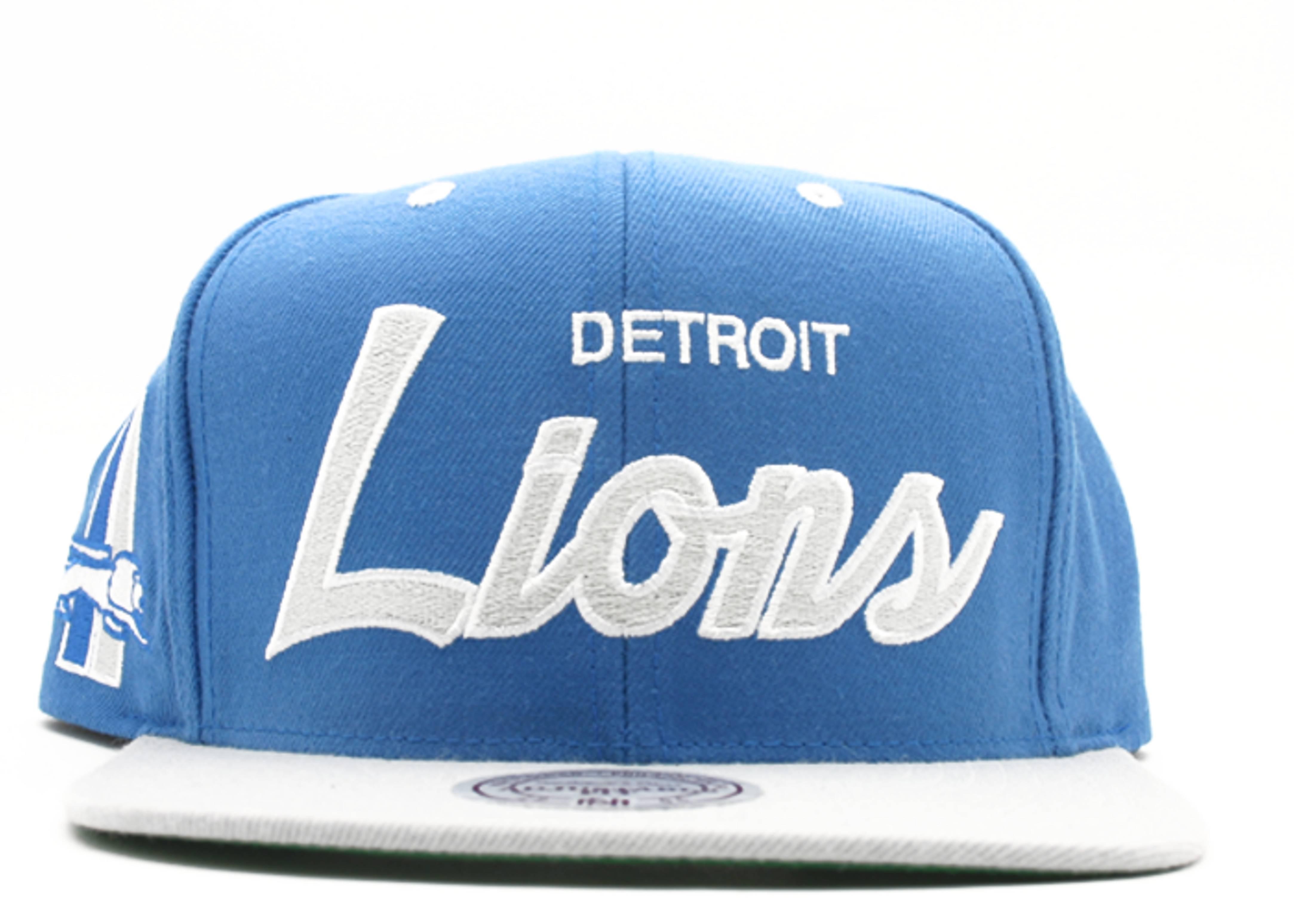 detroit lions snap-back