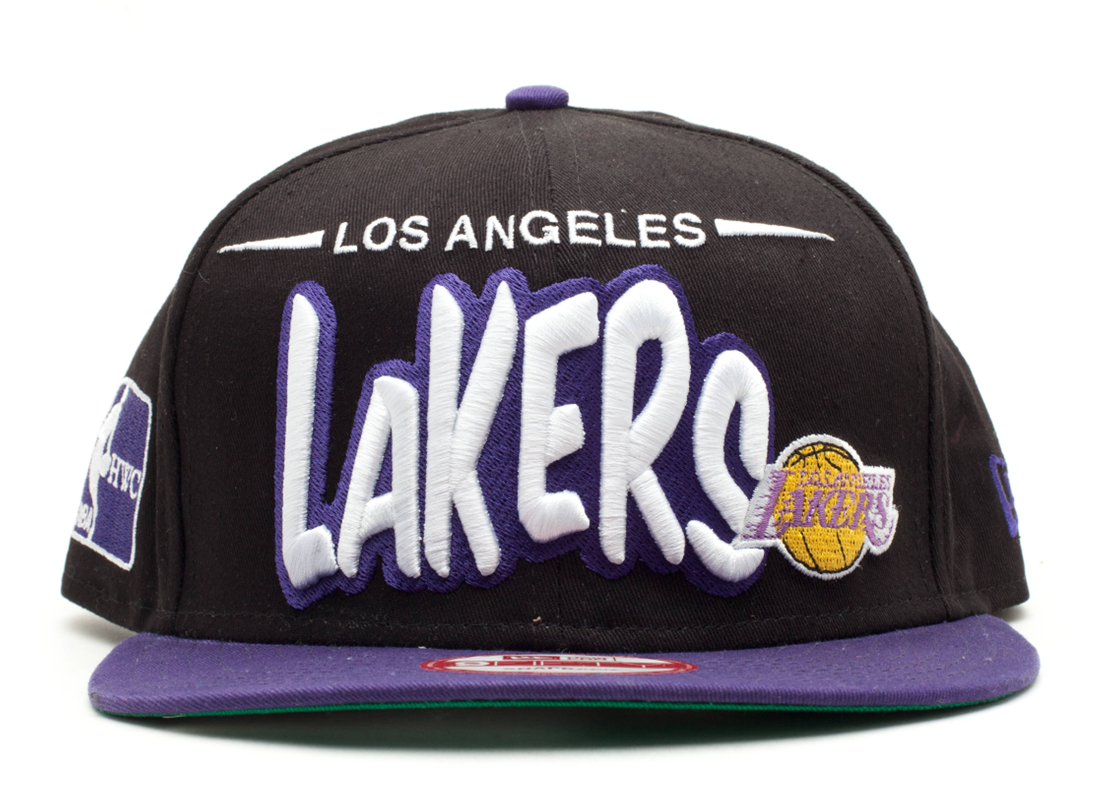 "los angeles lakers snap-back ""funky dope"""