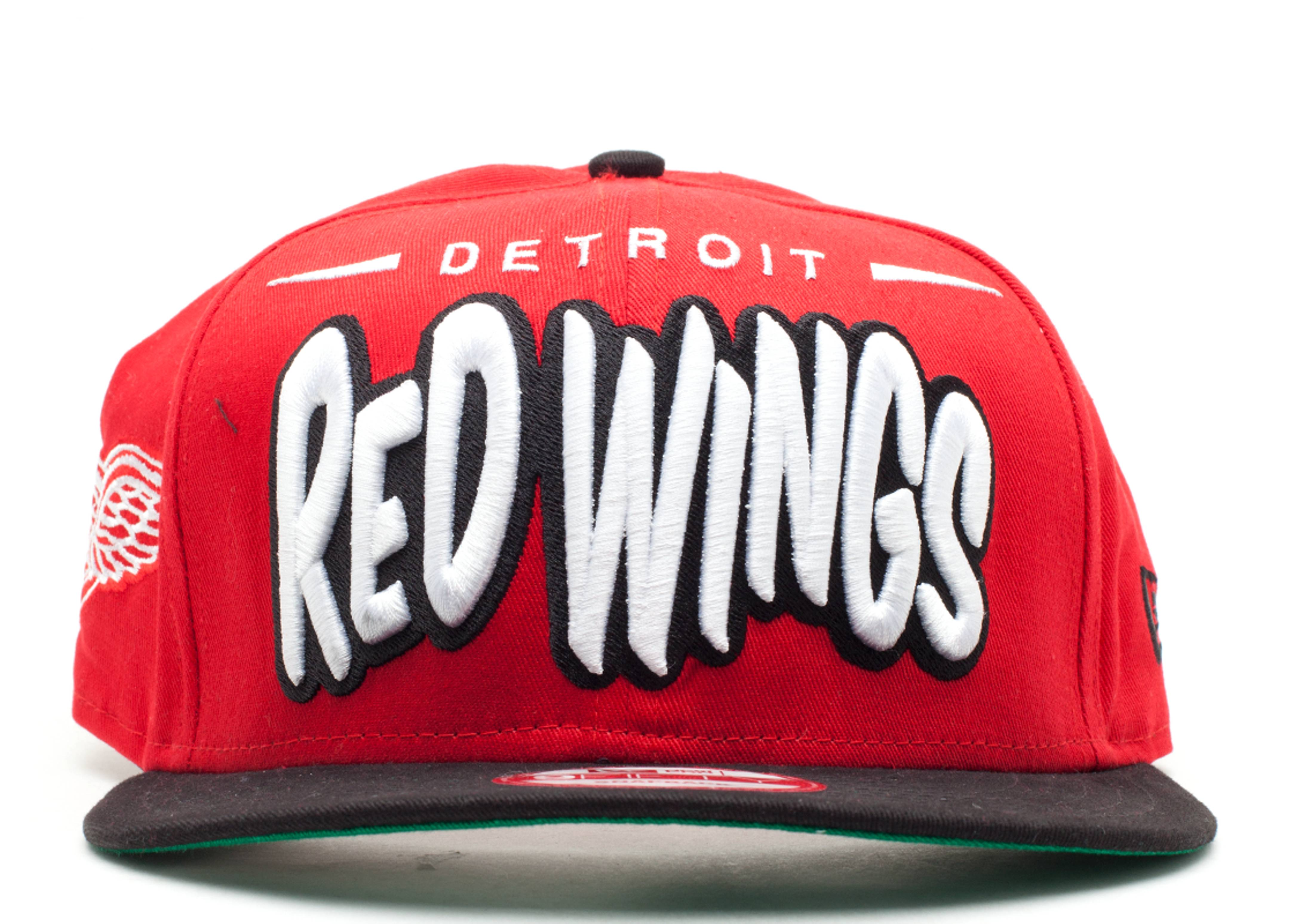 "detroit red wings snap-back ""funky dope"""