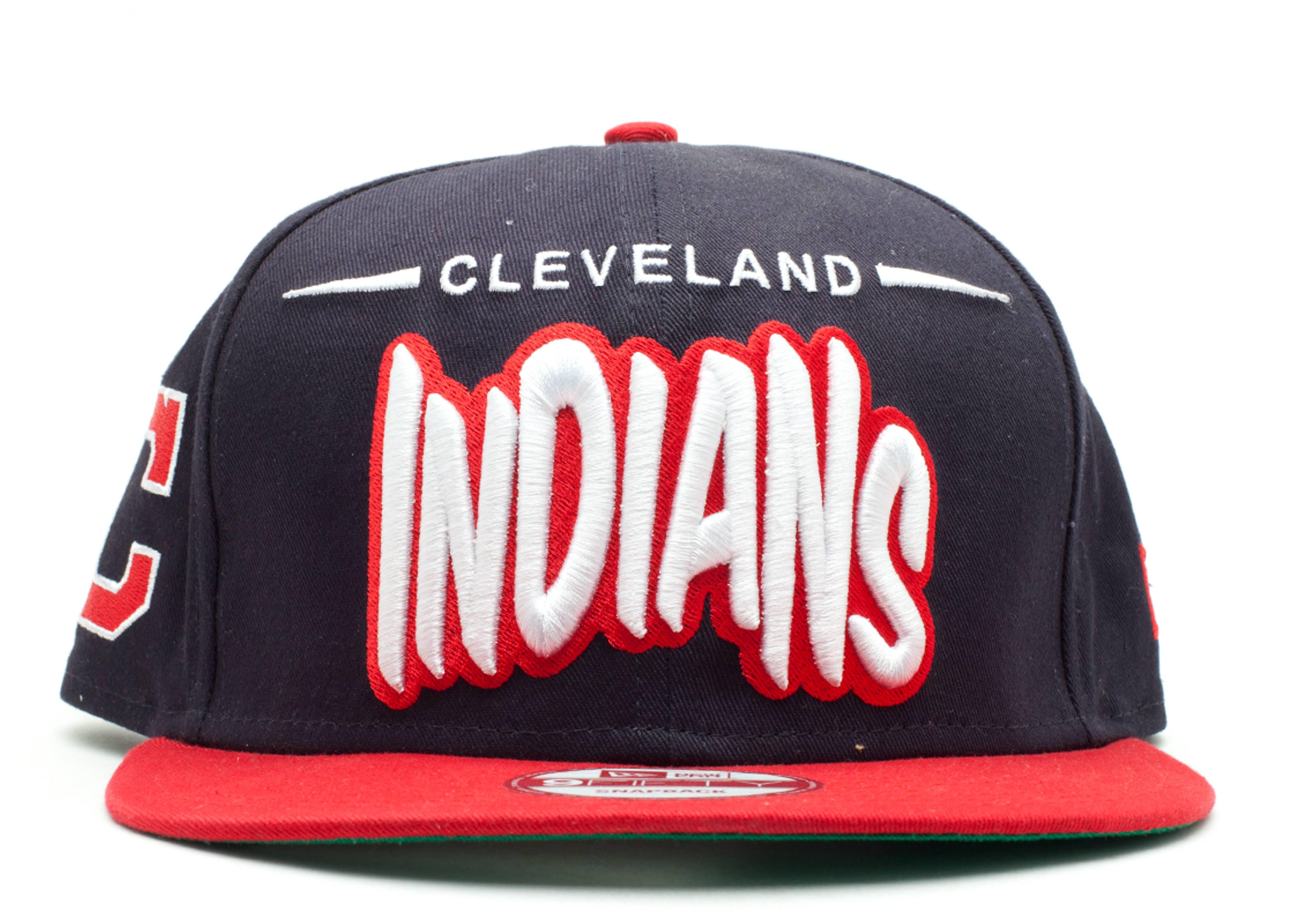 "cleveland indians snap-back ""funky dope"""