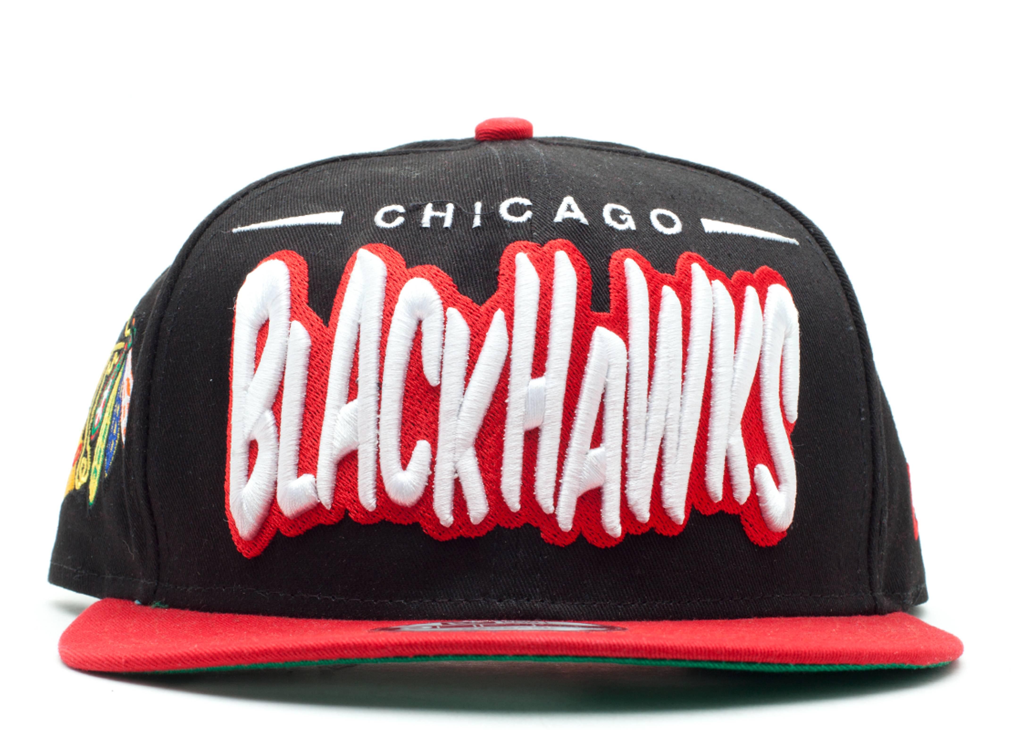 "chicago blackhawks snap-back ""funky dope"""
