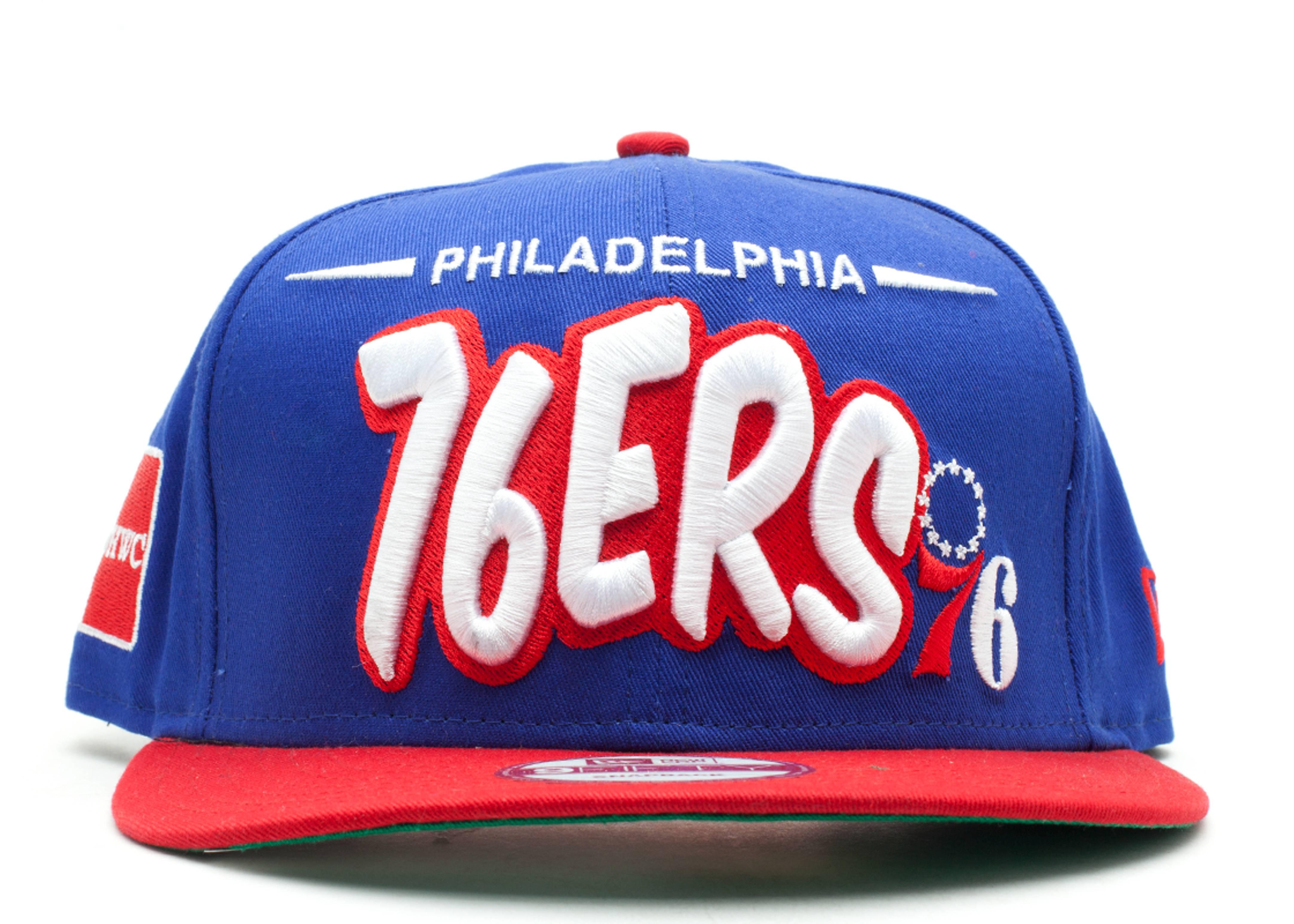 "philadelphia 76ers snap-back ""funky dope"""
