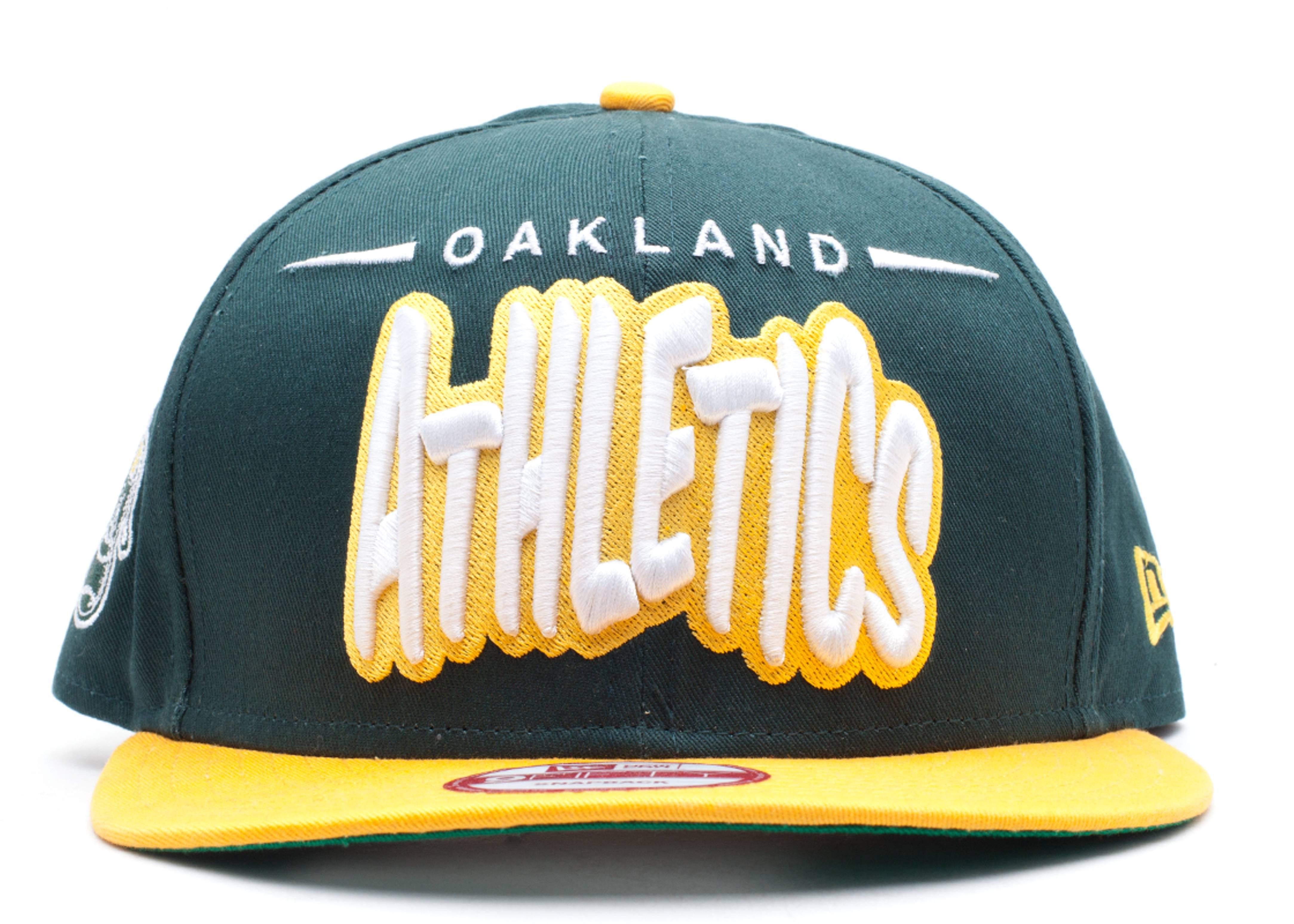 "oakland athletics snap-back ""funky dope"""