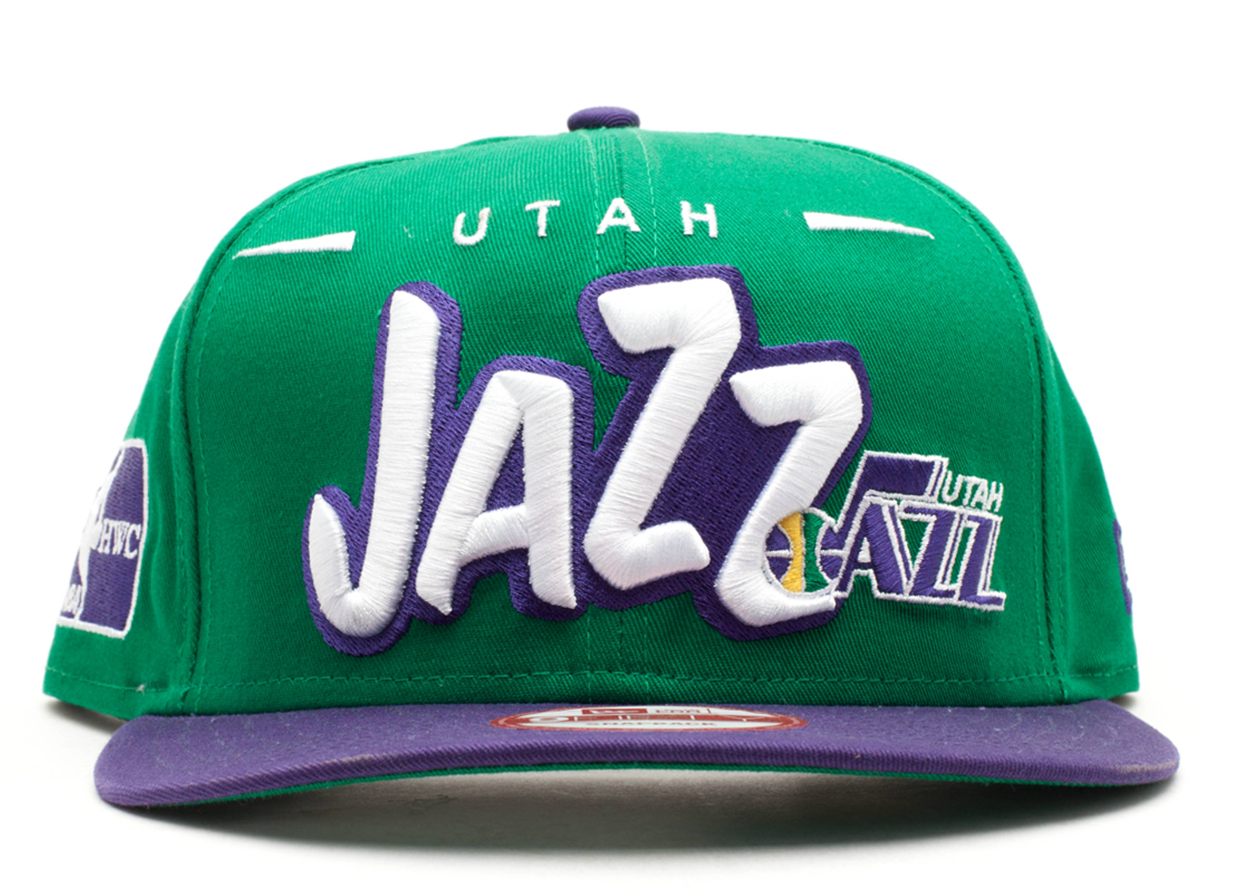 """utah jazz snap-back """"funky dope"""""""