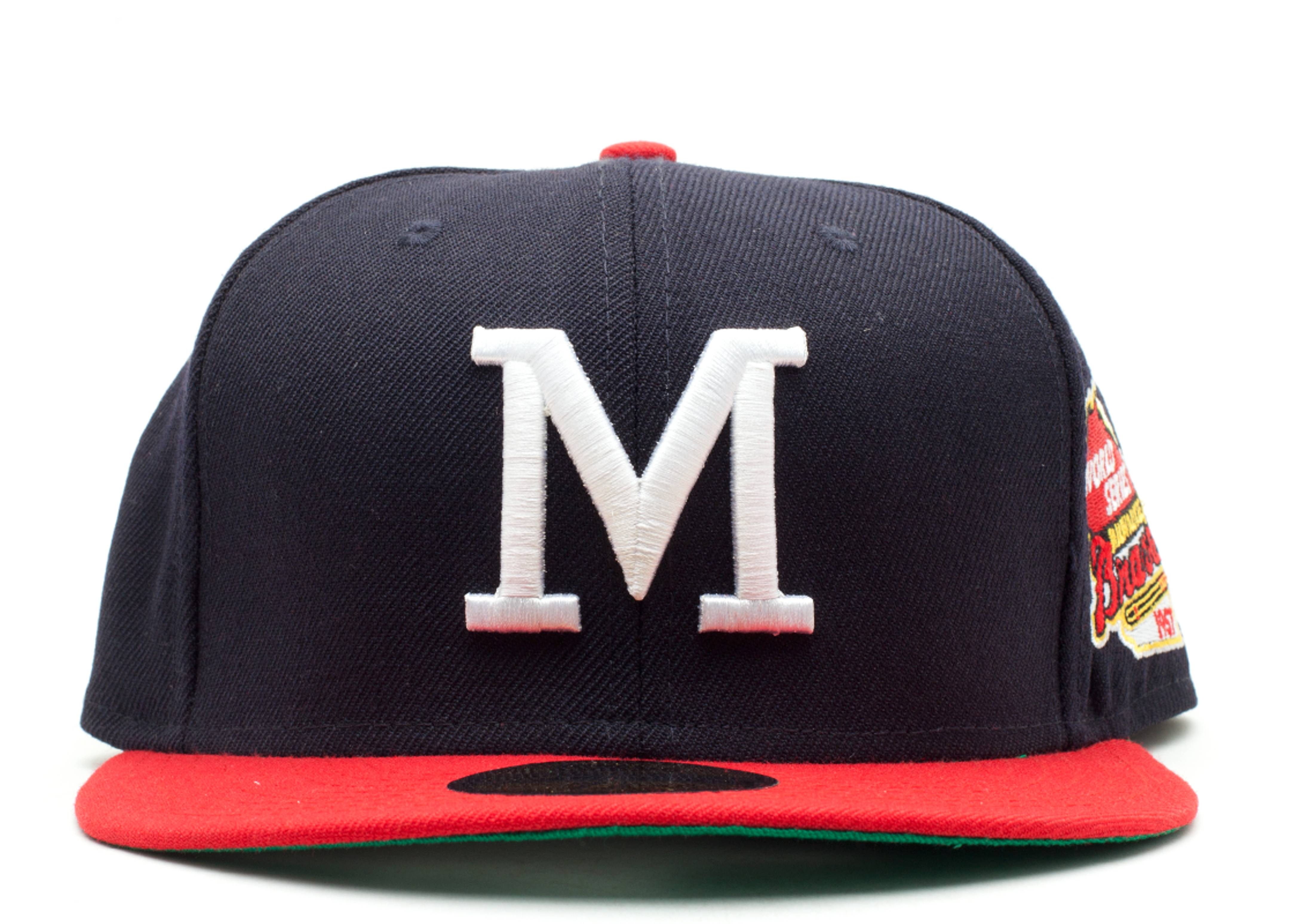 "milwaukee braves fitted ""1957 world series"""