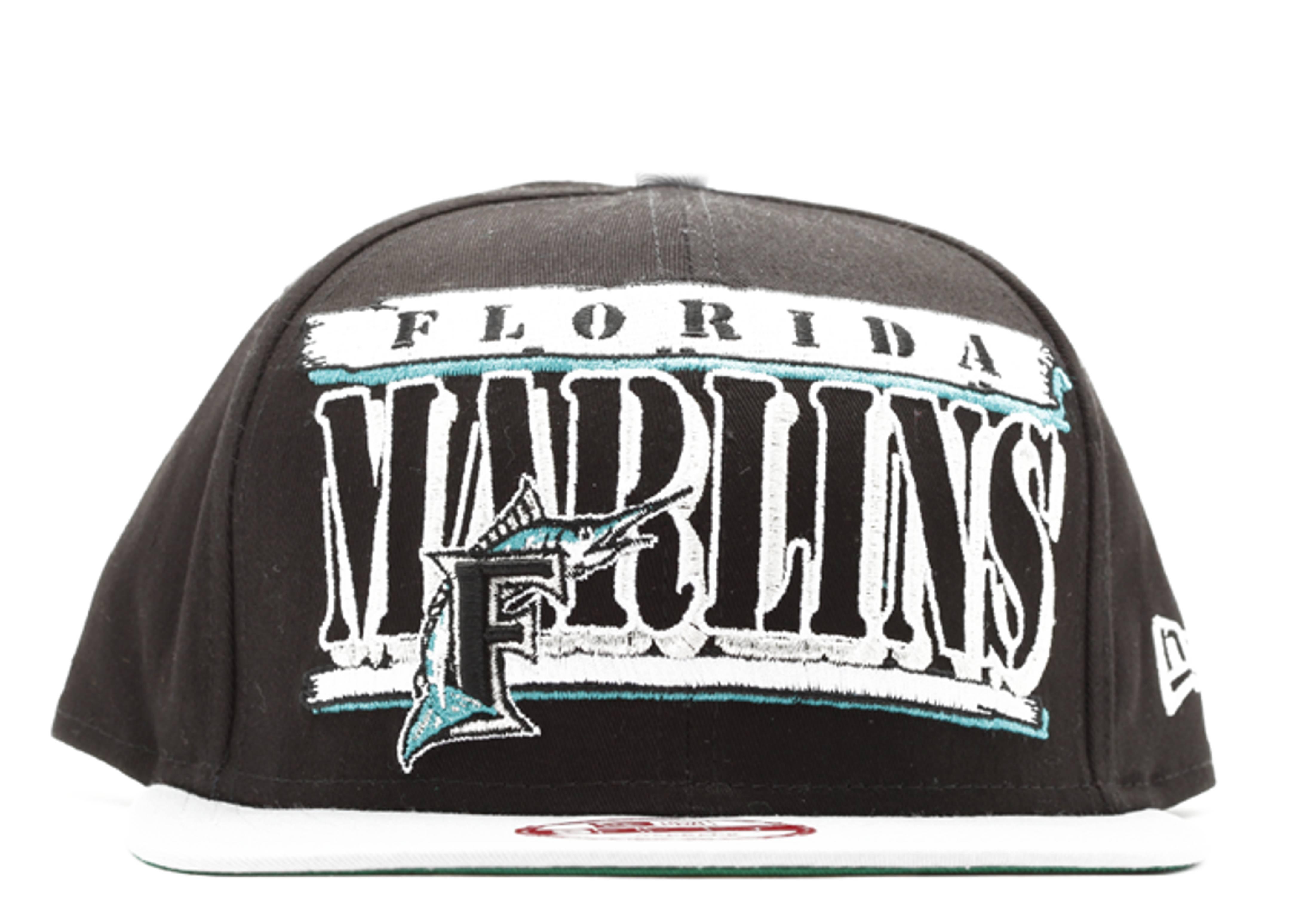 florida marlins snap-back