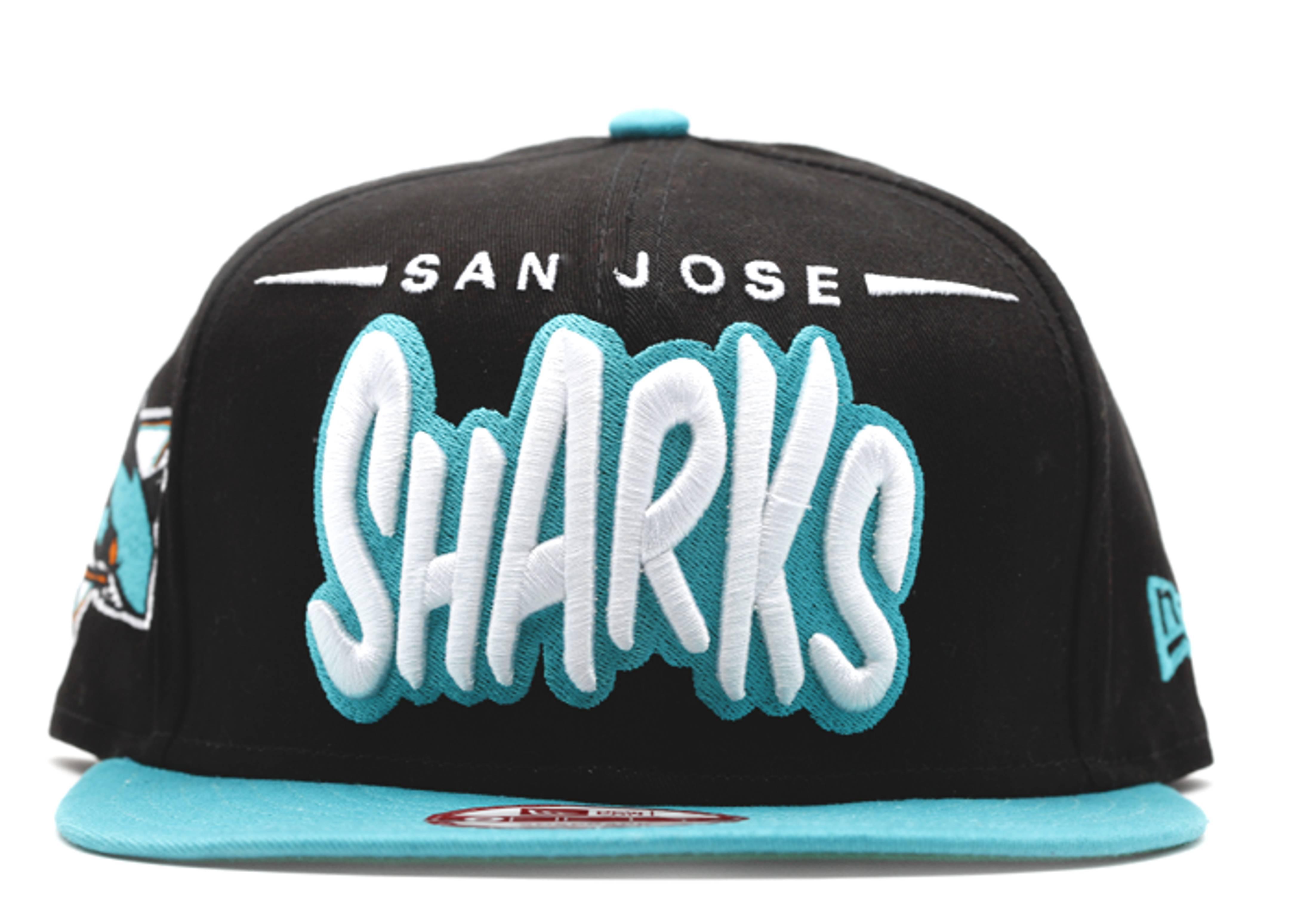 sna jose sharks snap-back