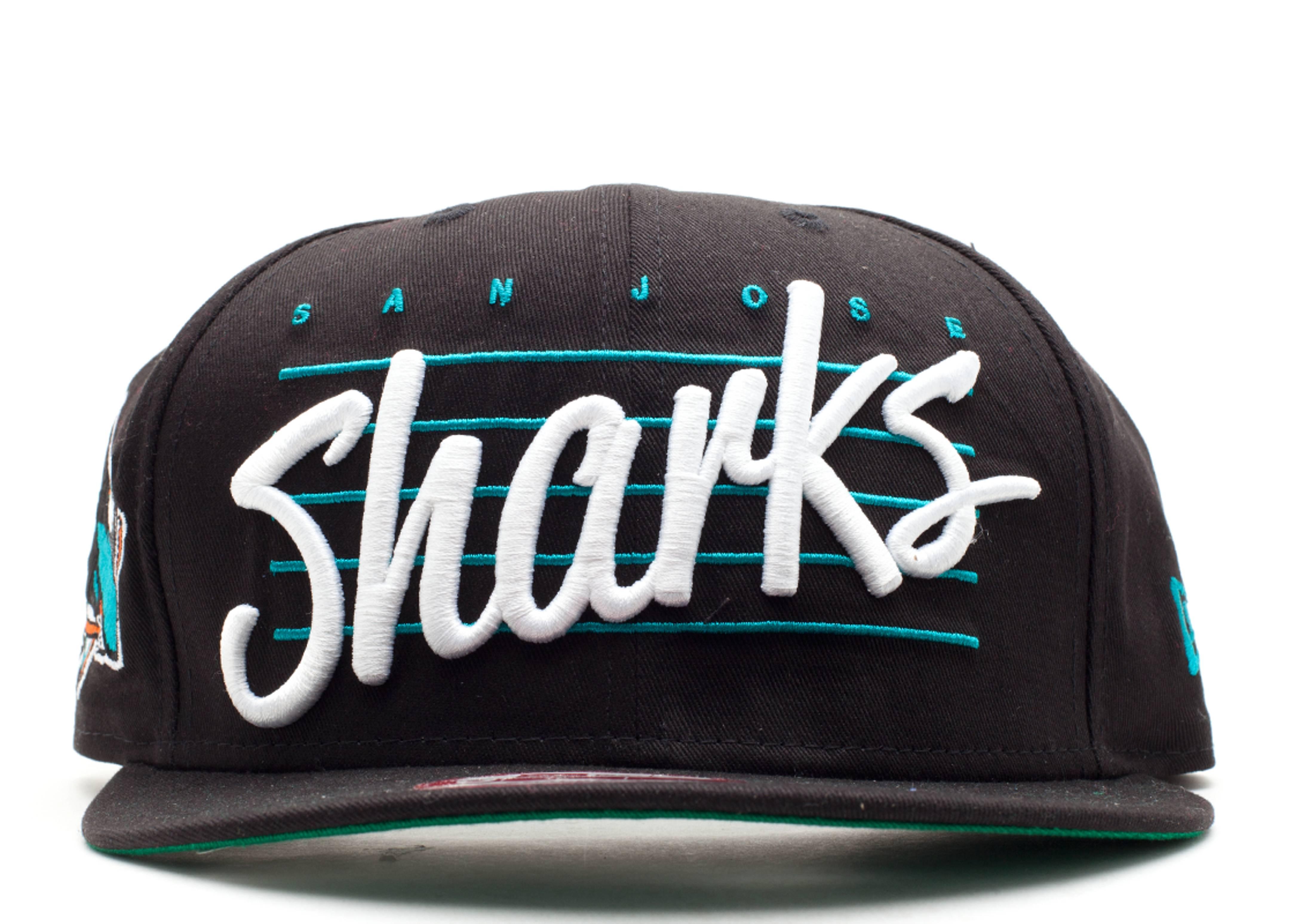 san jose sharks snap-back