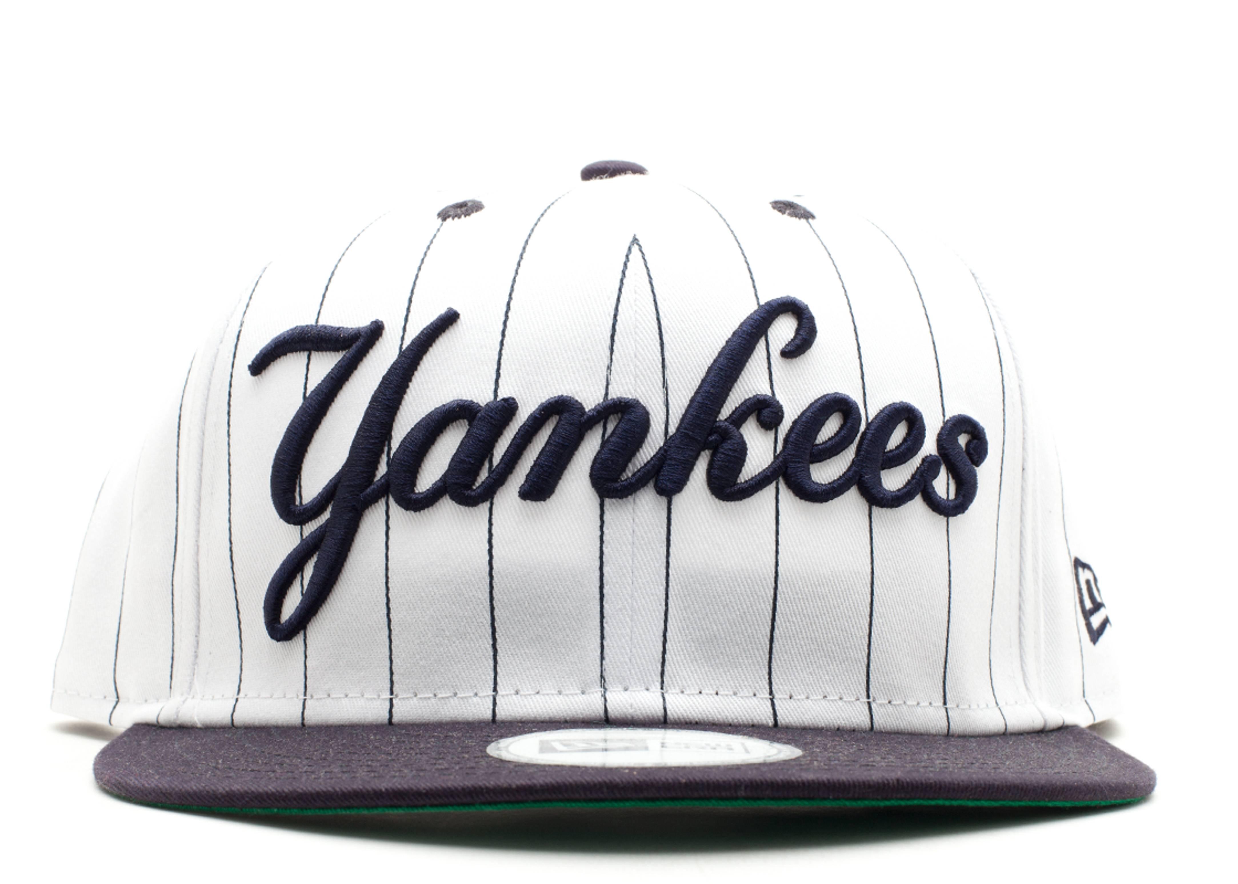 "new york yankees snap-back ""pinstripe"""