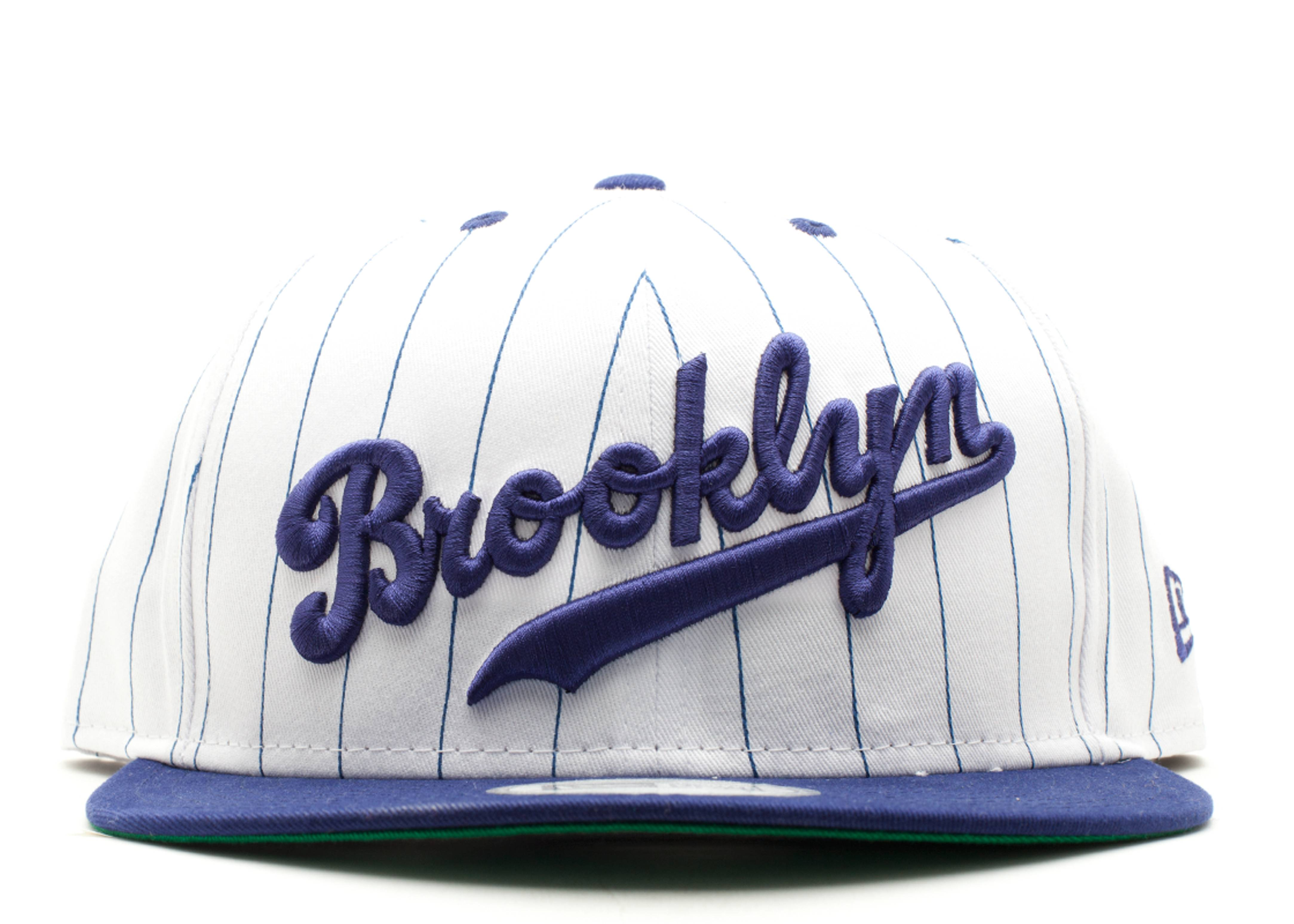 "brooklyn dodgers snap-back ""pinstripe"""