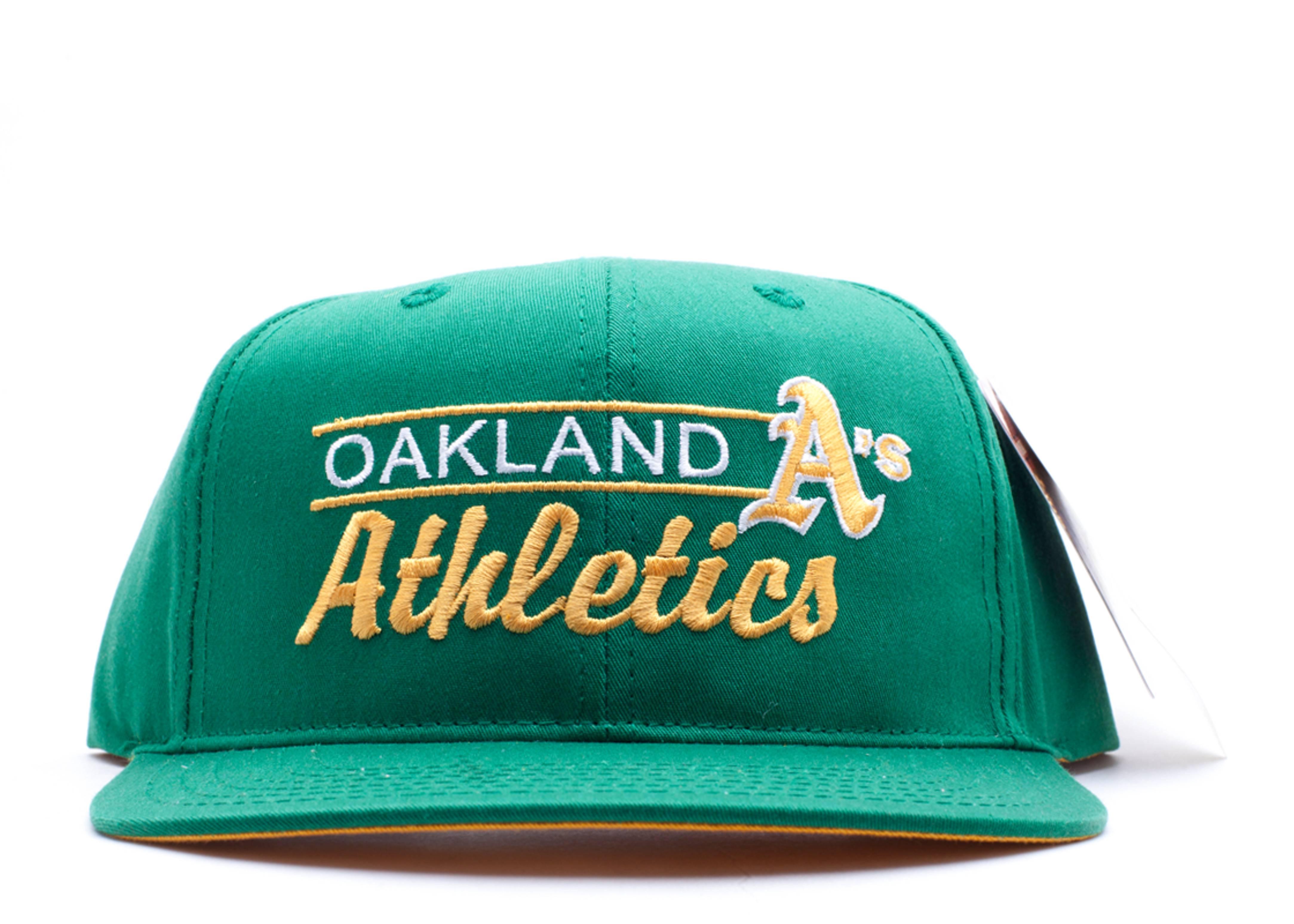 oakland athletics snap-back