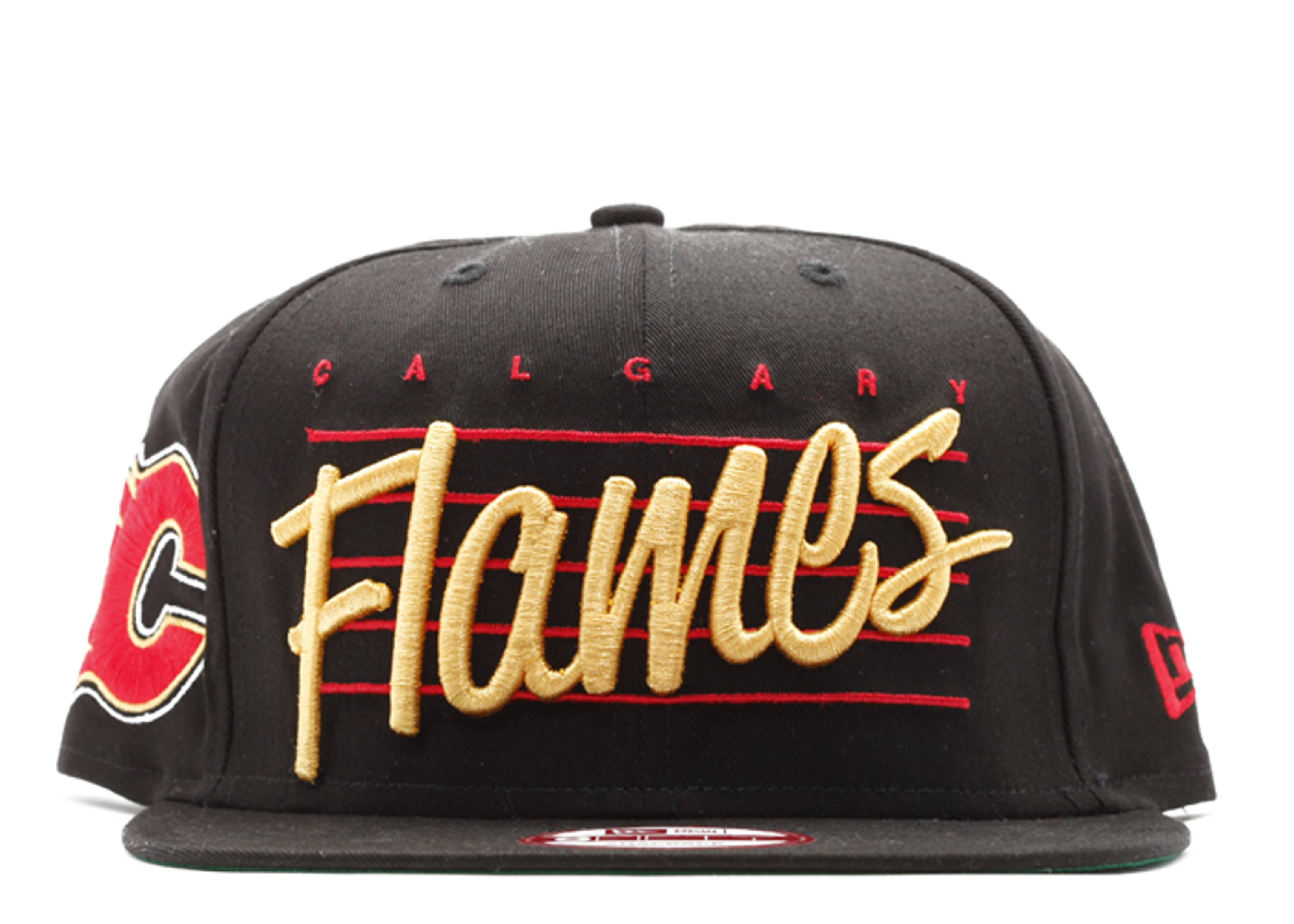 calgary flames snap-back