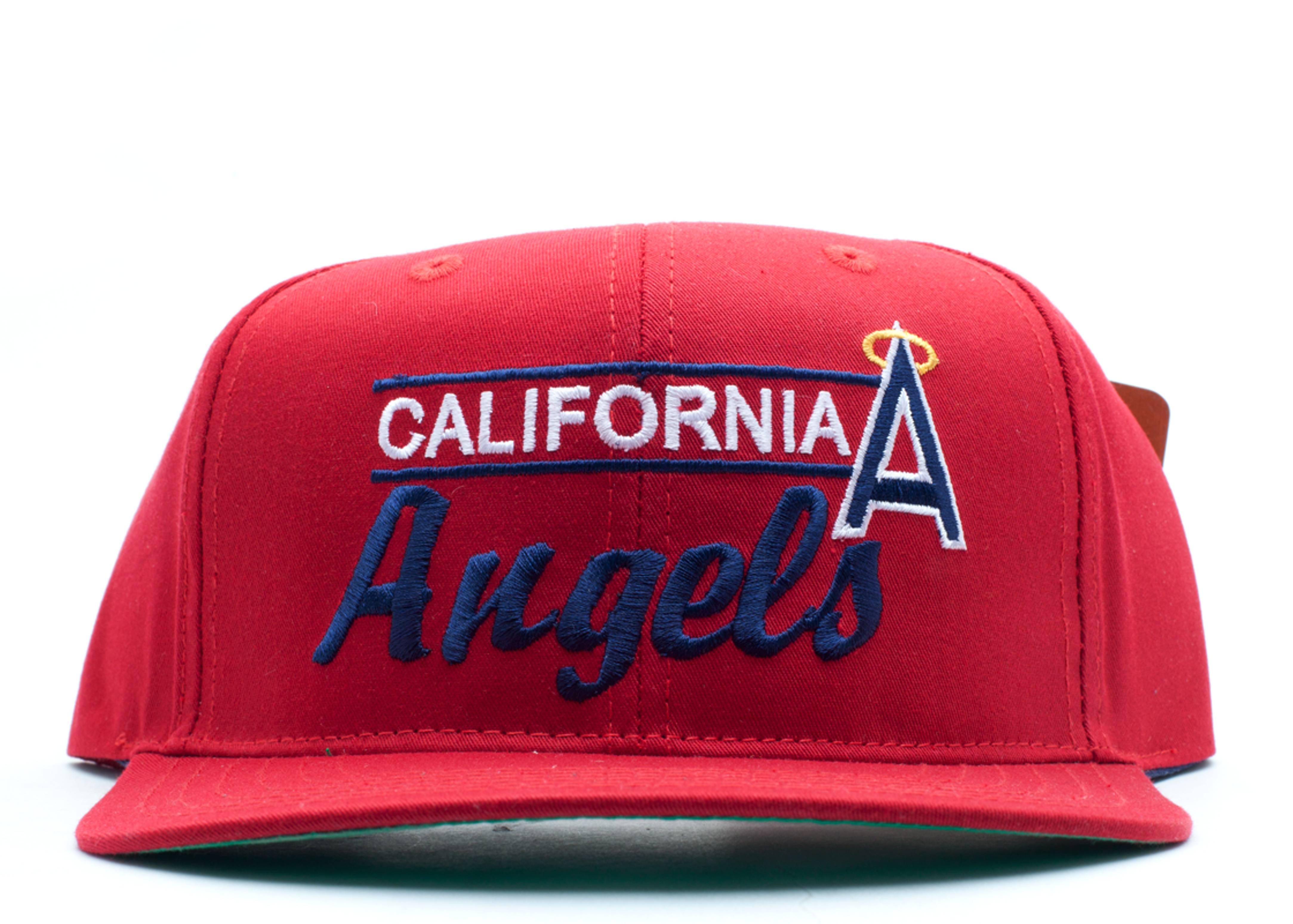 california angels snap-back
