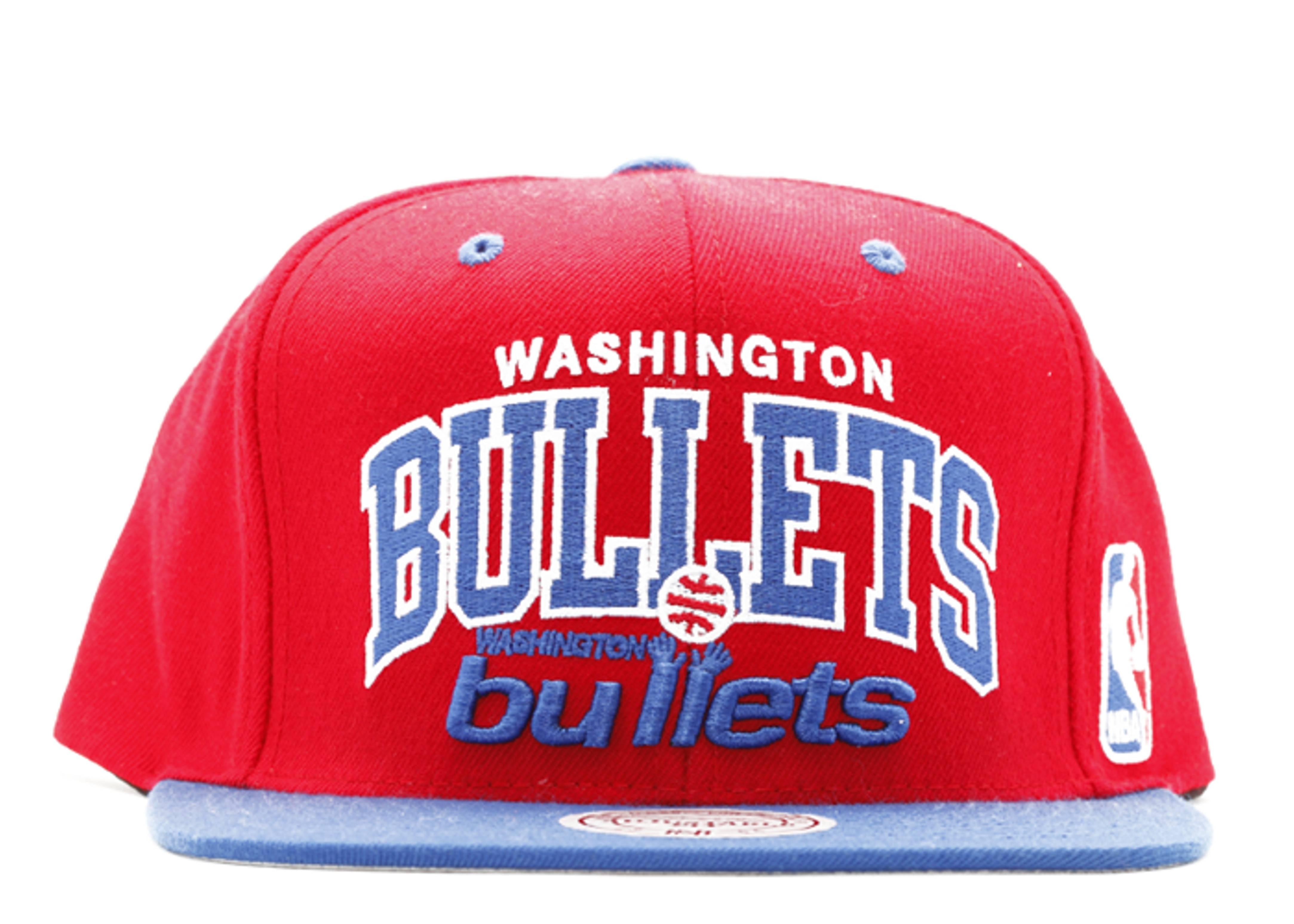 washington bullets snap-back