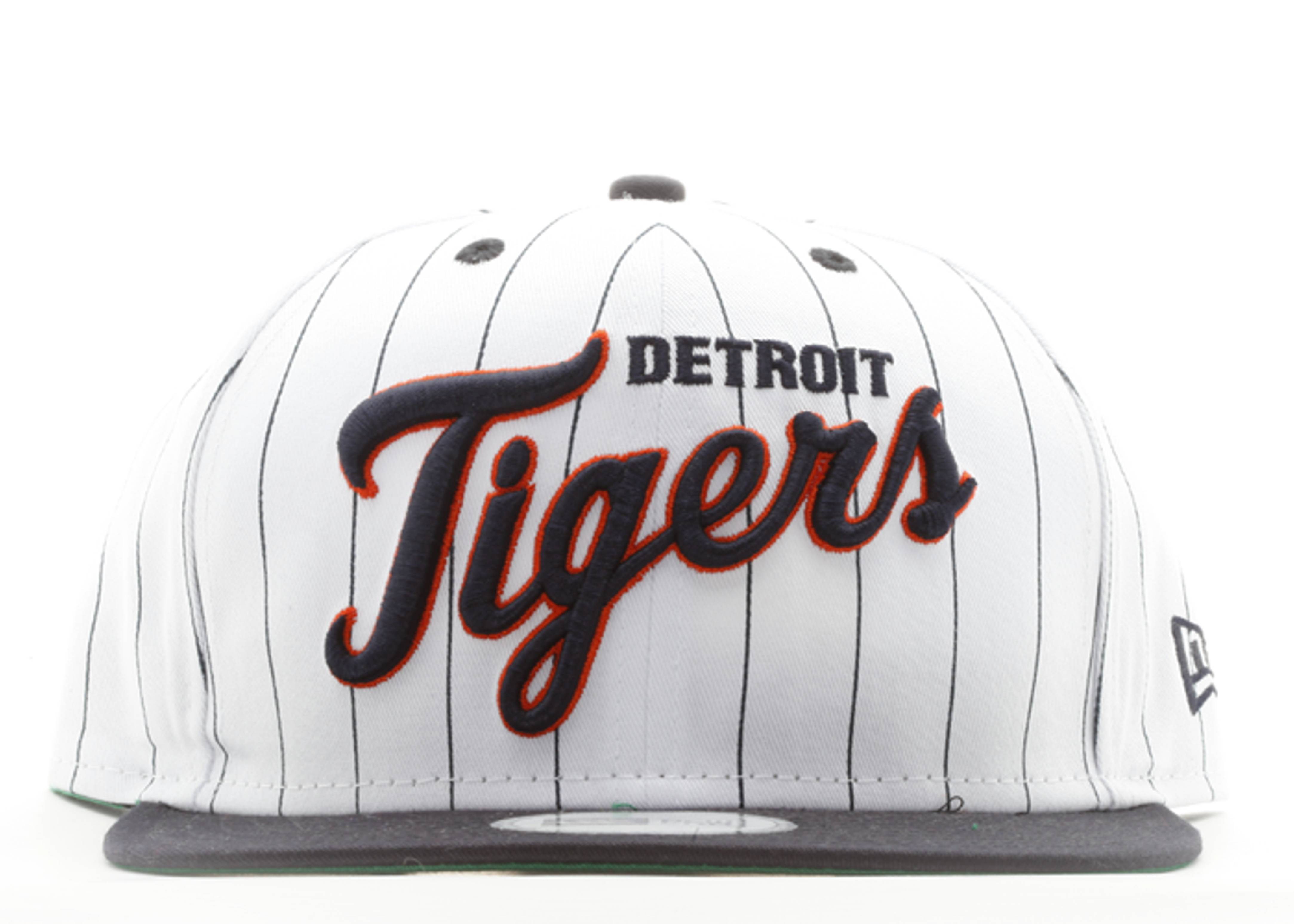 "detroit tigers snap-back ""pinstripe"""