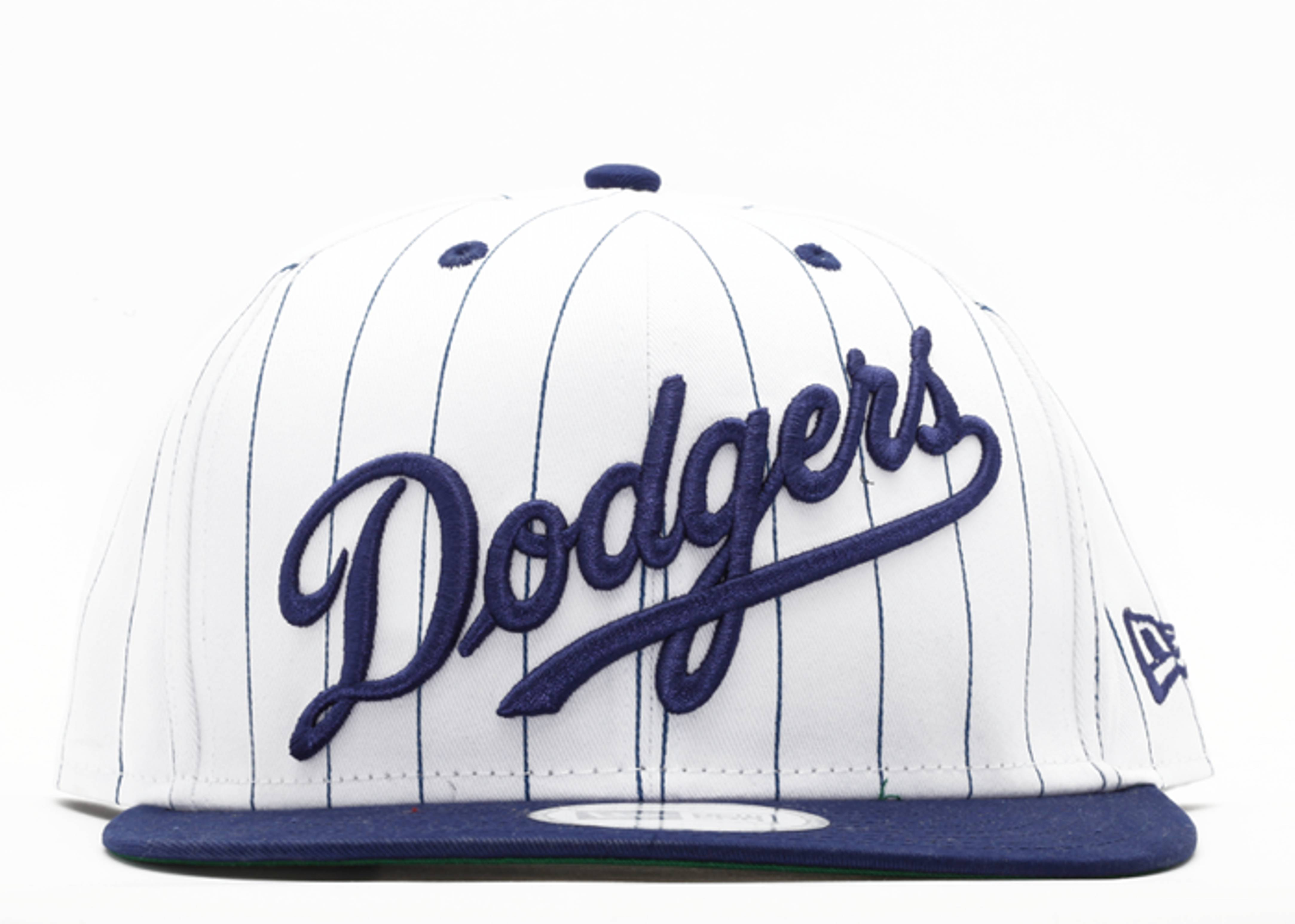 "los angeles dodgers snap-back ""pinstripe"""