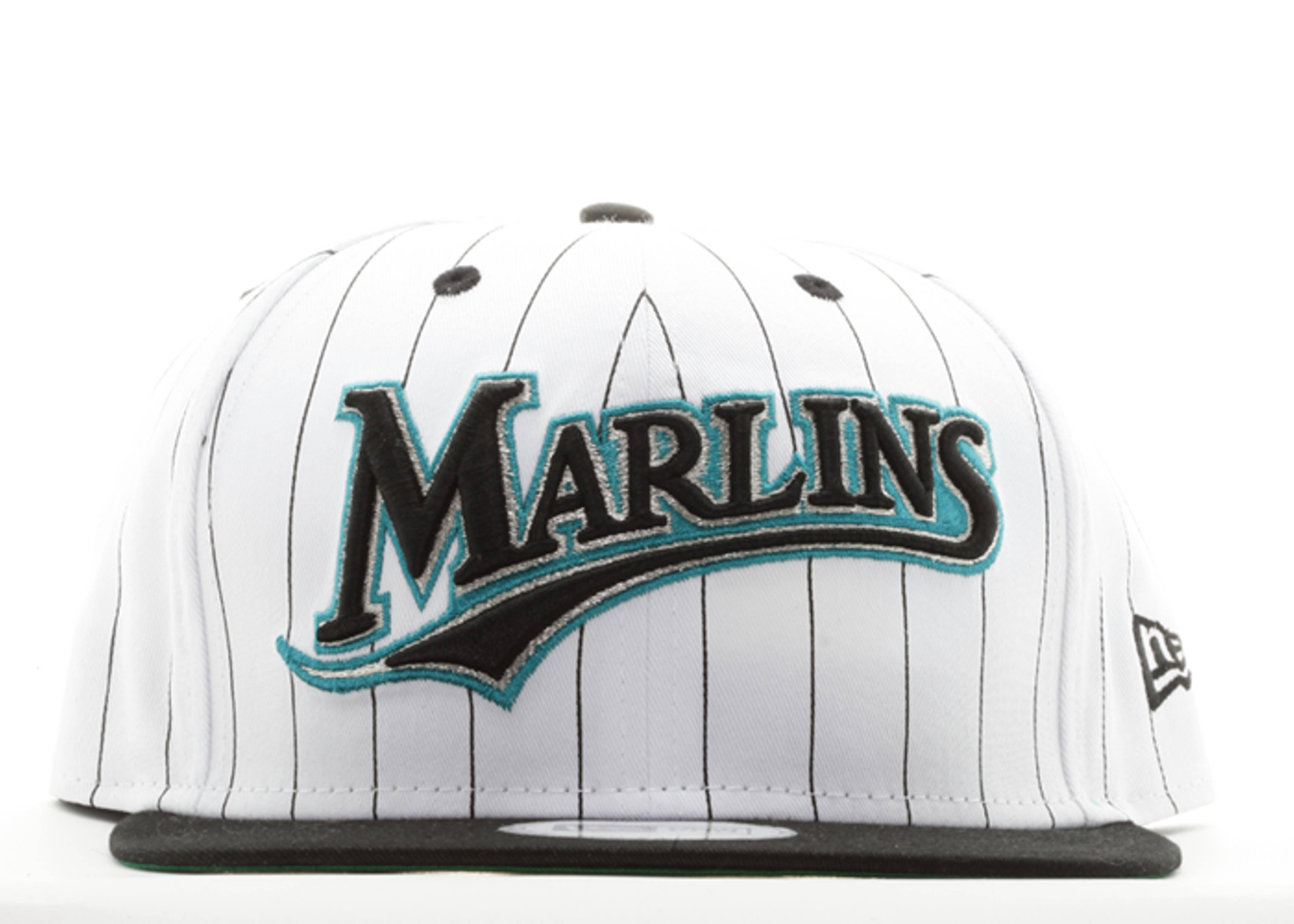 "florida marlins snap-back ""pinstripe"""