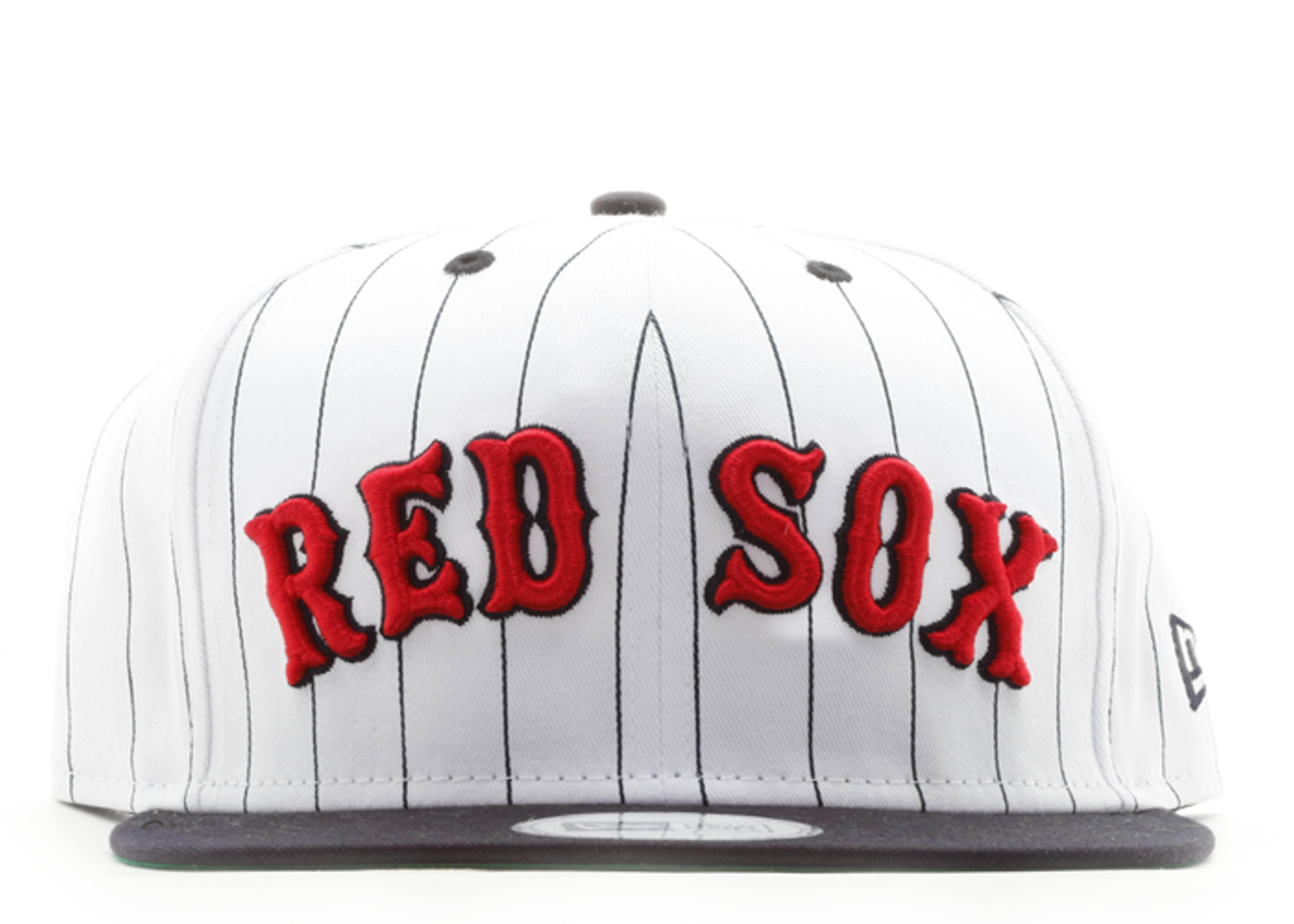 "boston red sox snap-back ""pinstripe"""