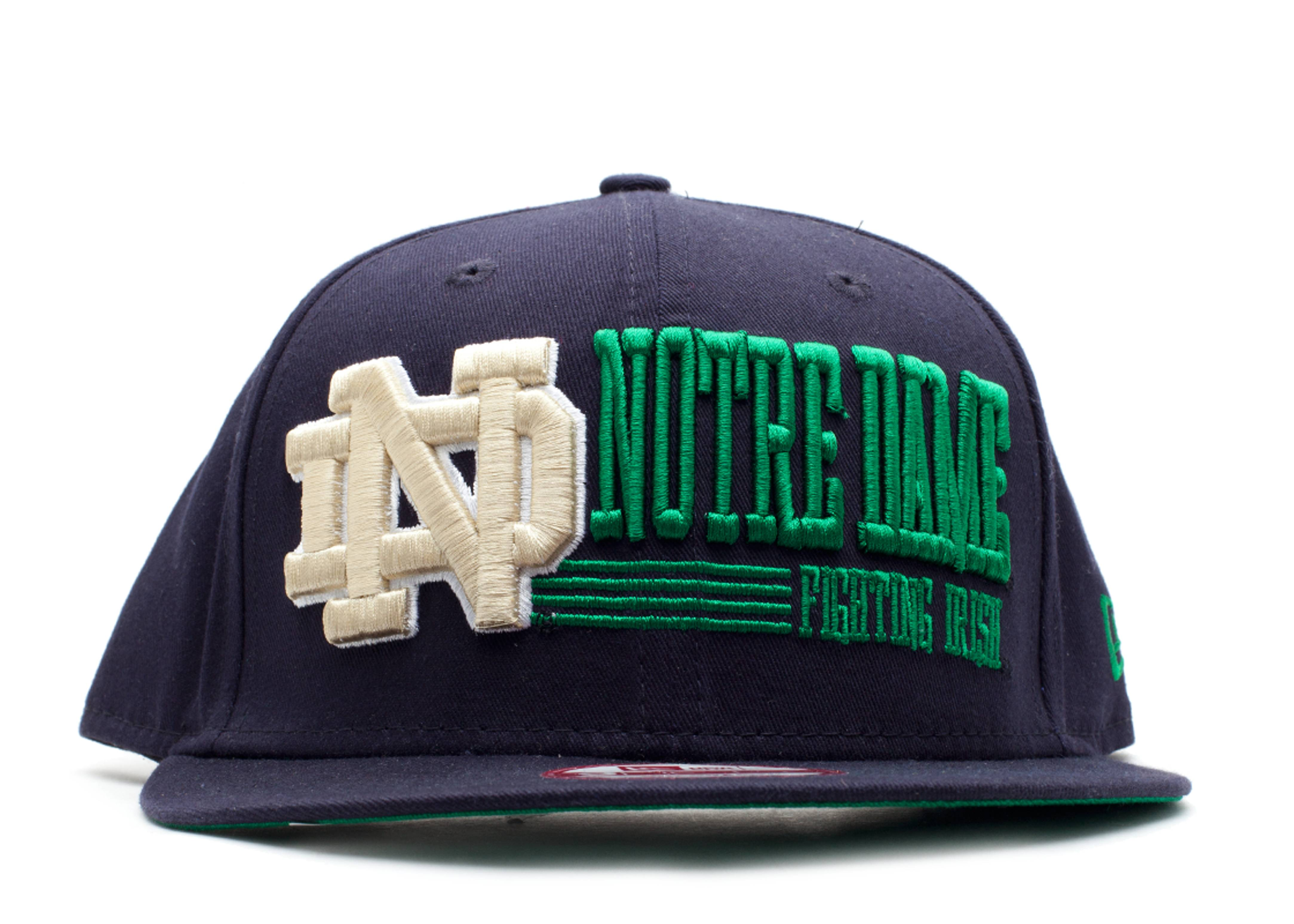 notre dame fighting irish snap-back