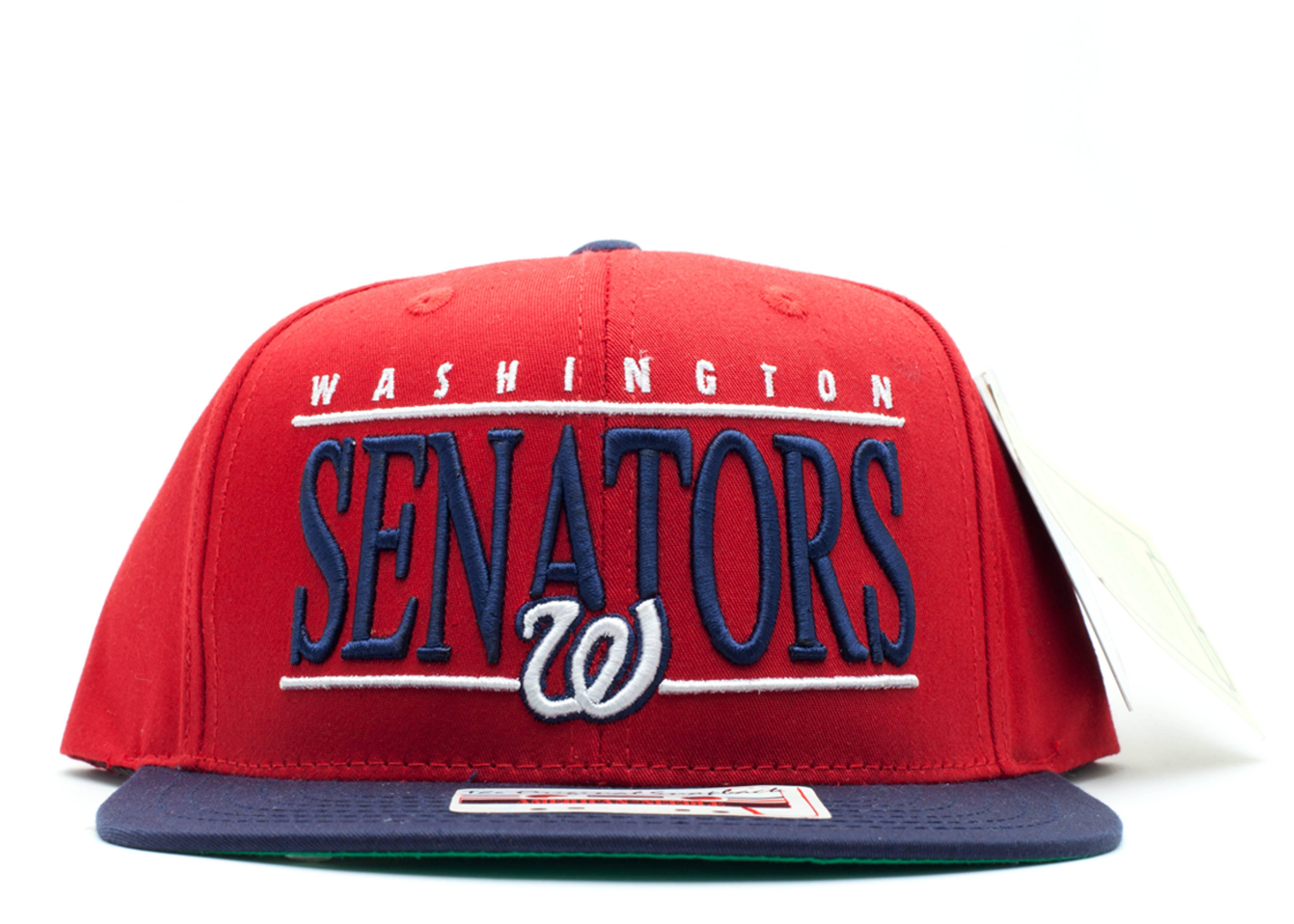washington senators snap-back
