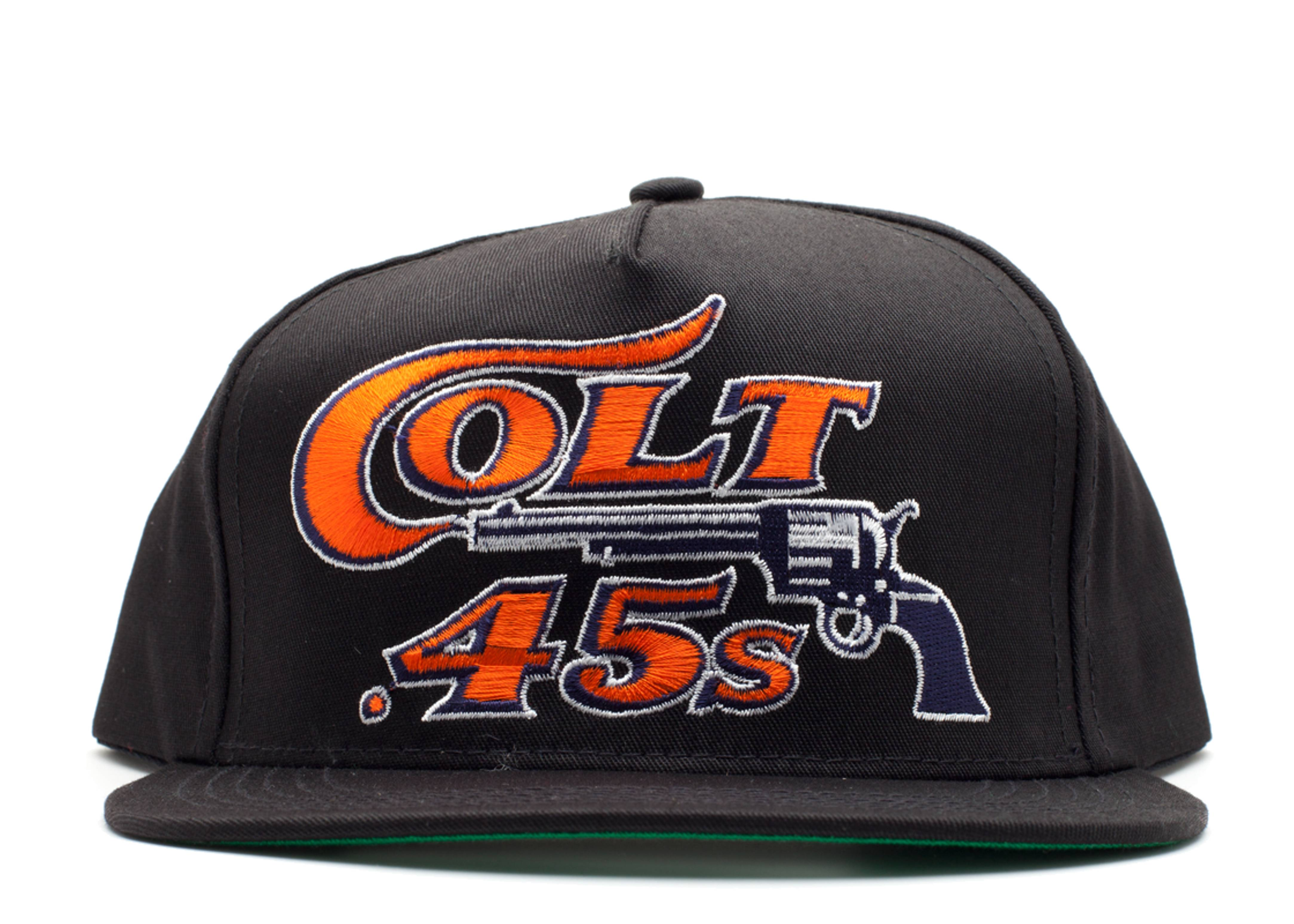 e90743cd2c2 Colt .45 Snap-back - Vintage - retro0146 - black