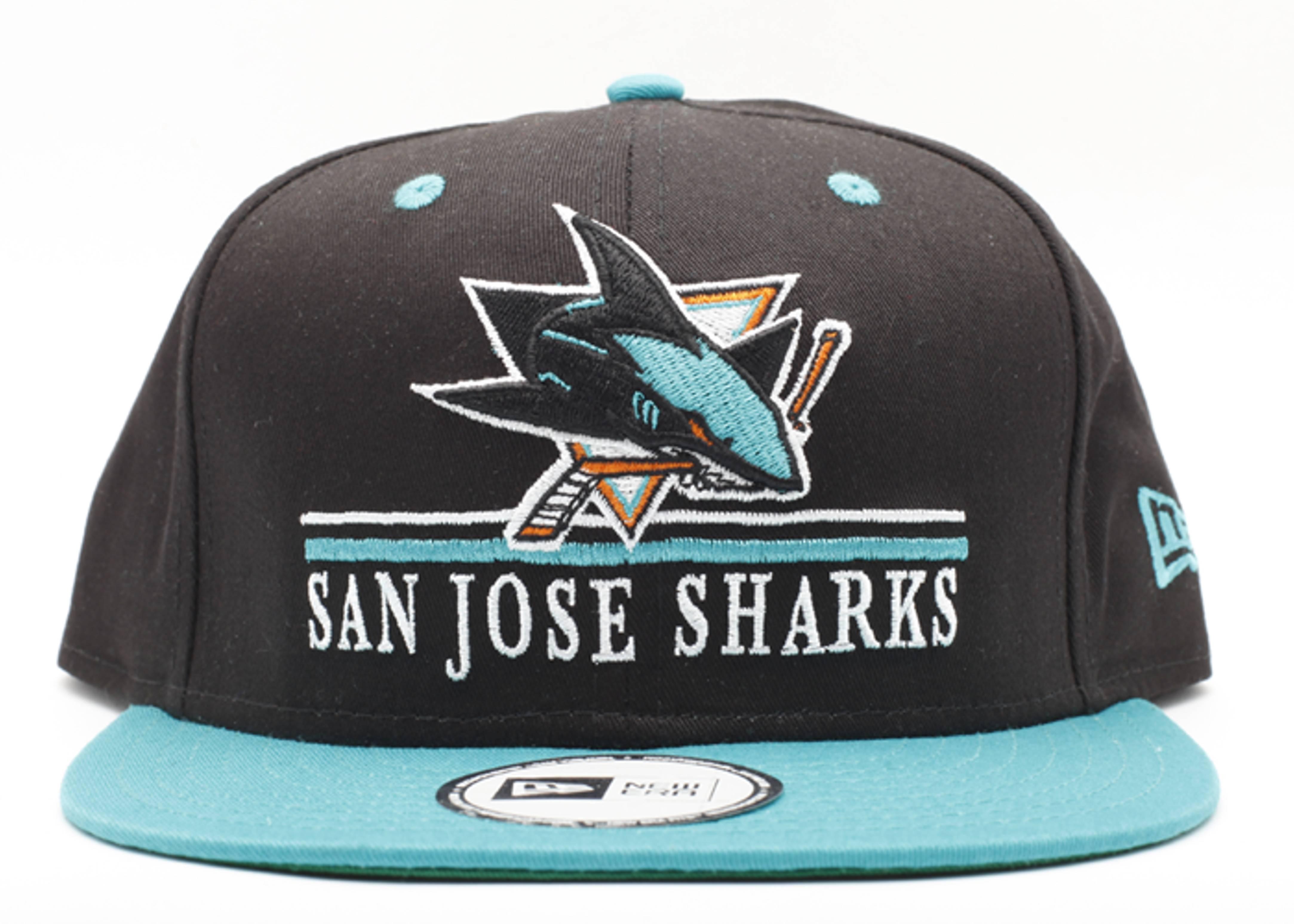 """san jose sharks snap-back """"underline"""""""
