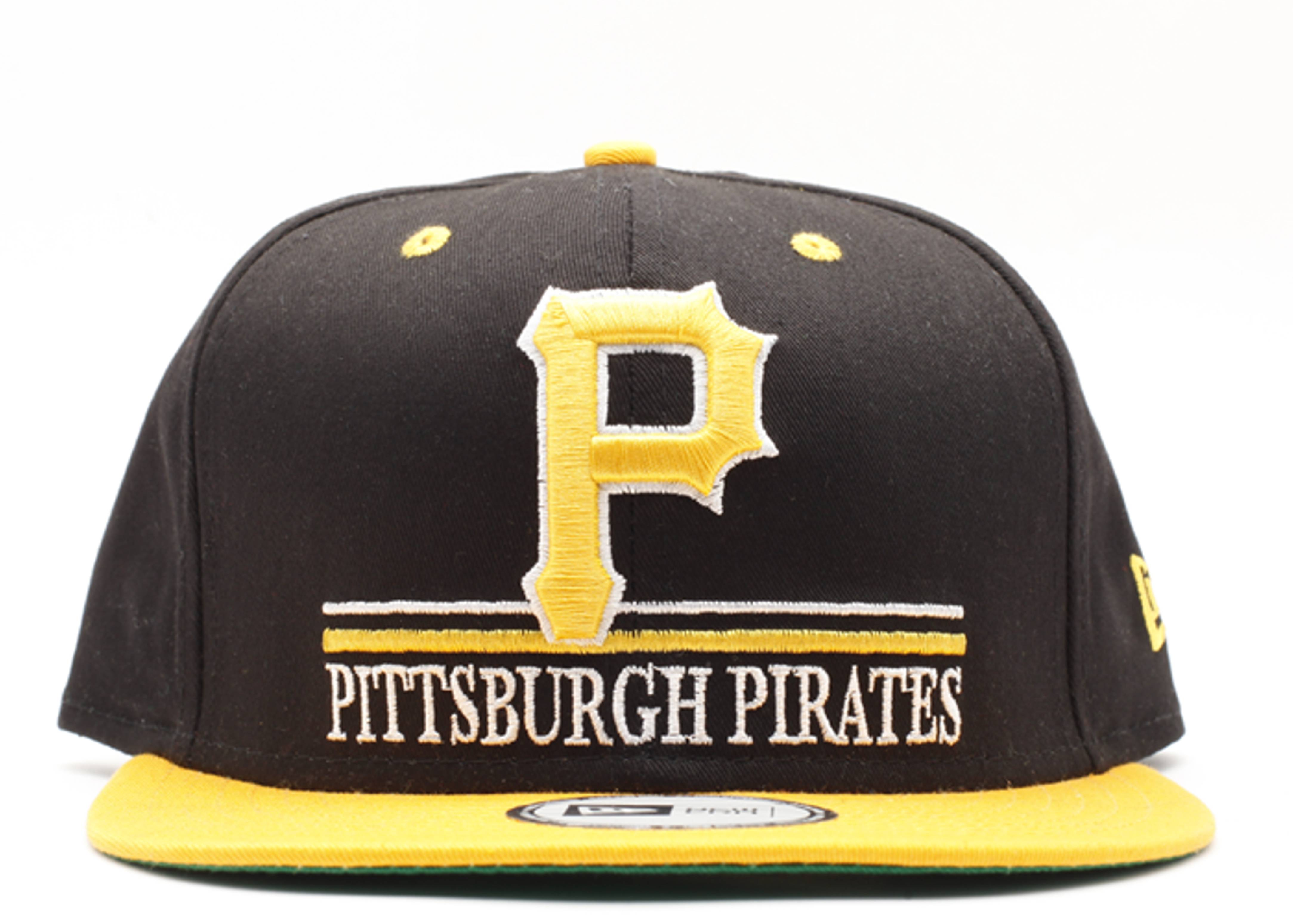 "pittsburgh pirates snap-back ""underline"""