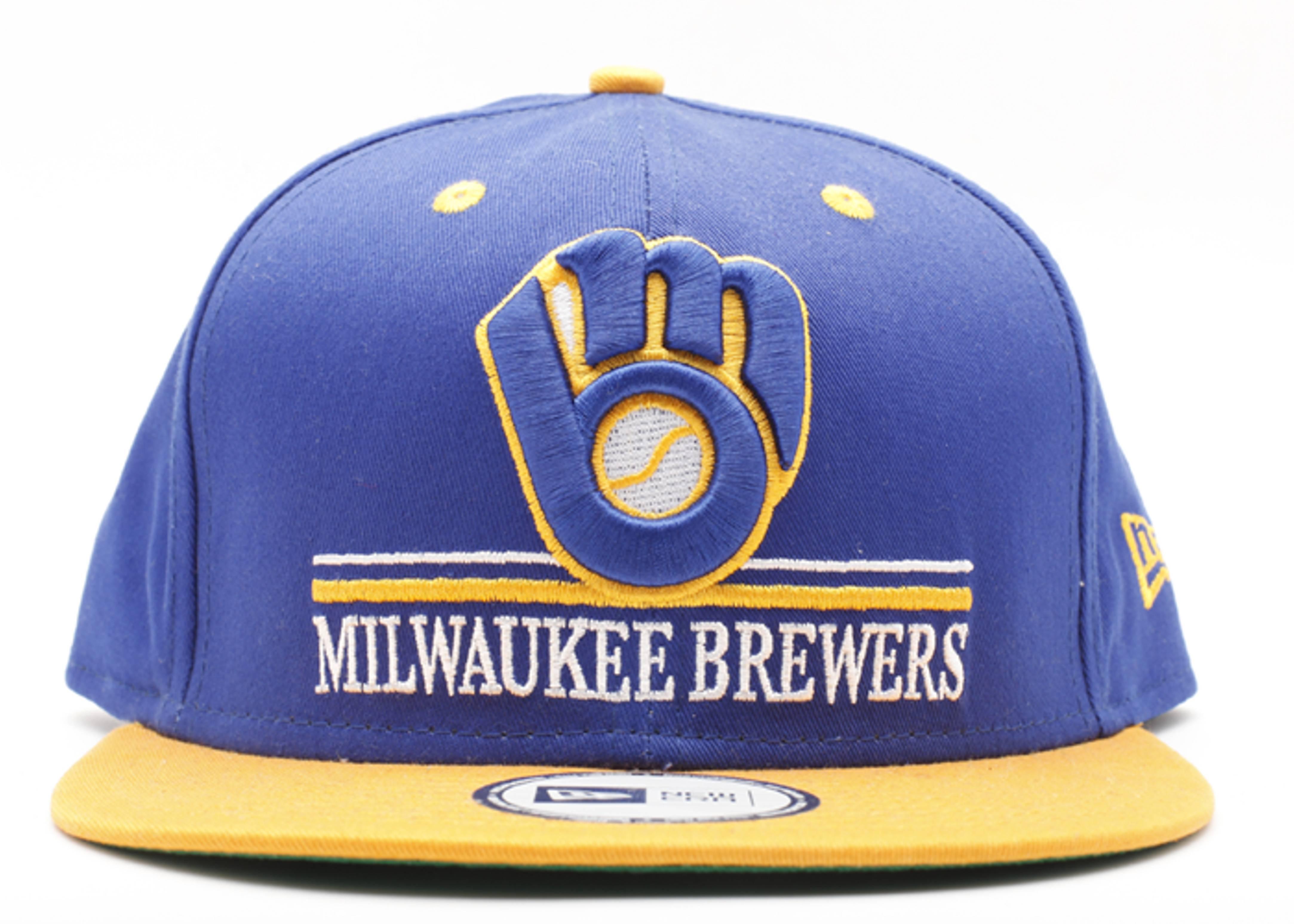 "milwaukee brewers snap-back ""underline"""