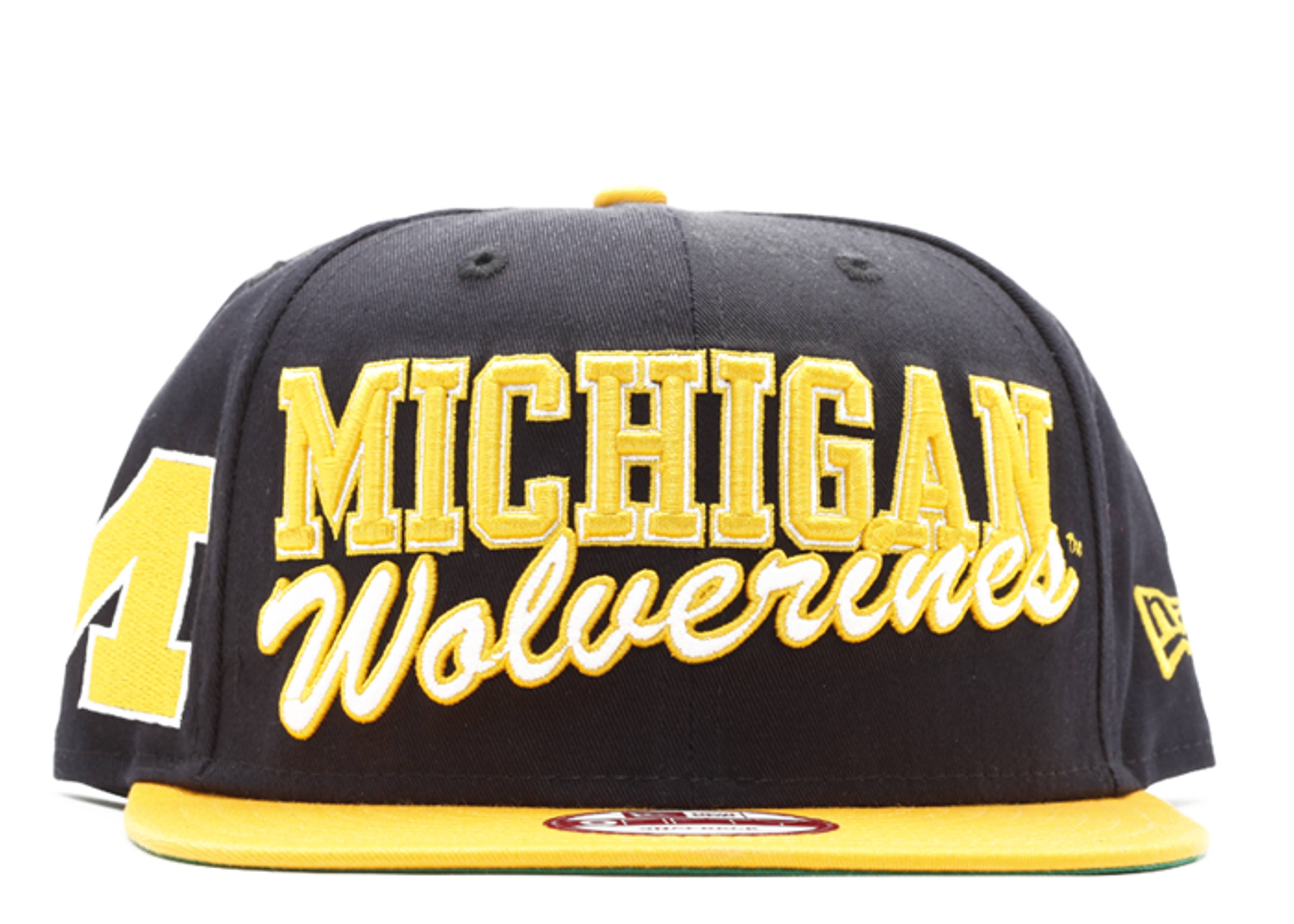 michigan wolverines snap-back