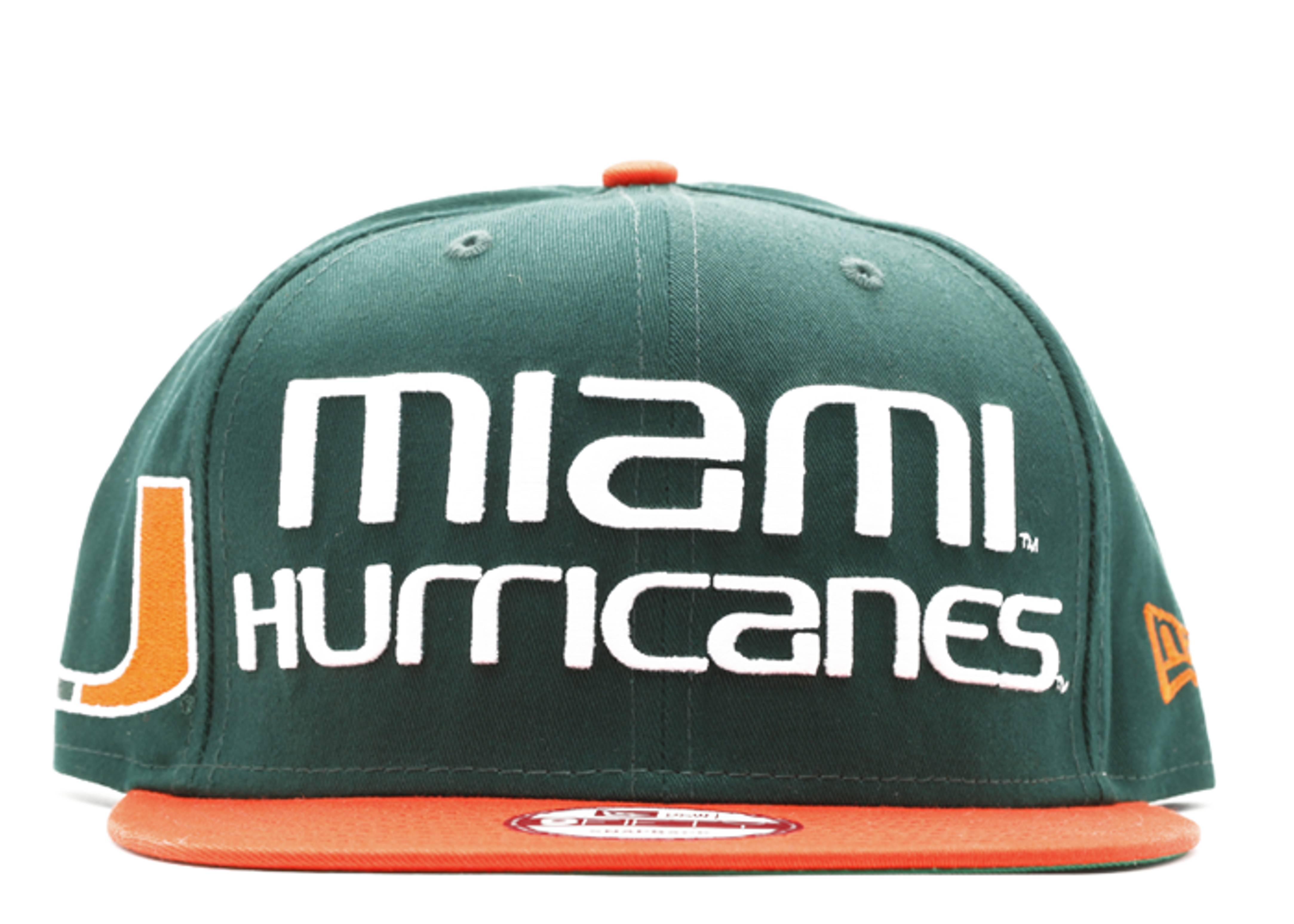 miami hurricane snap-back