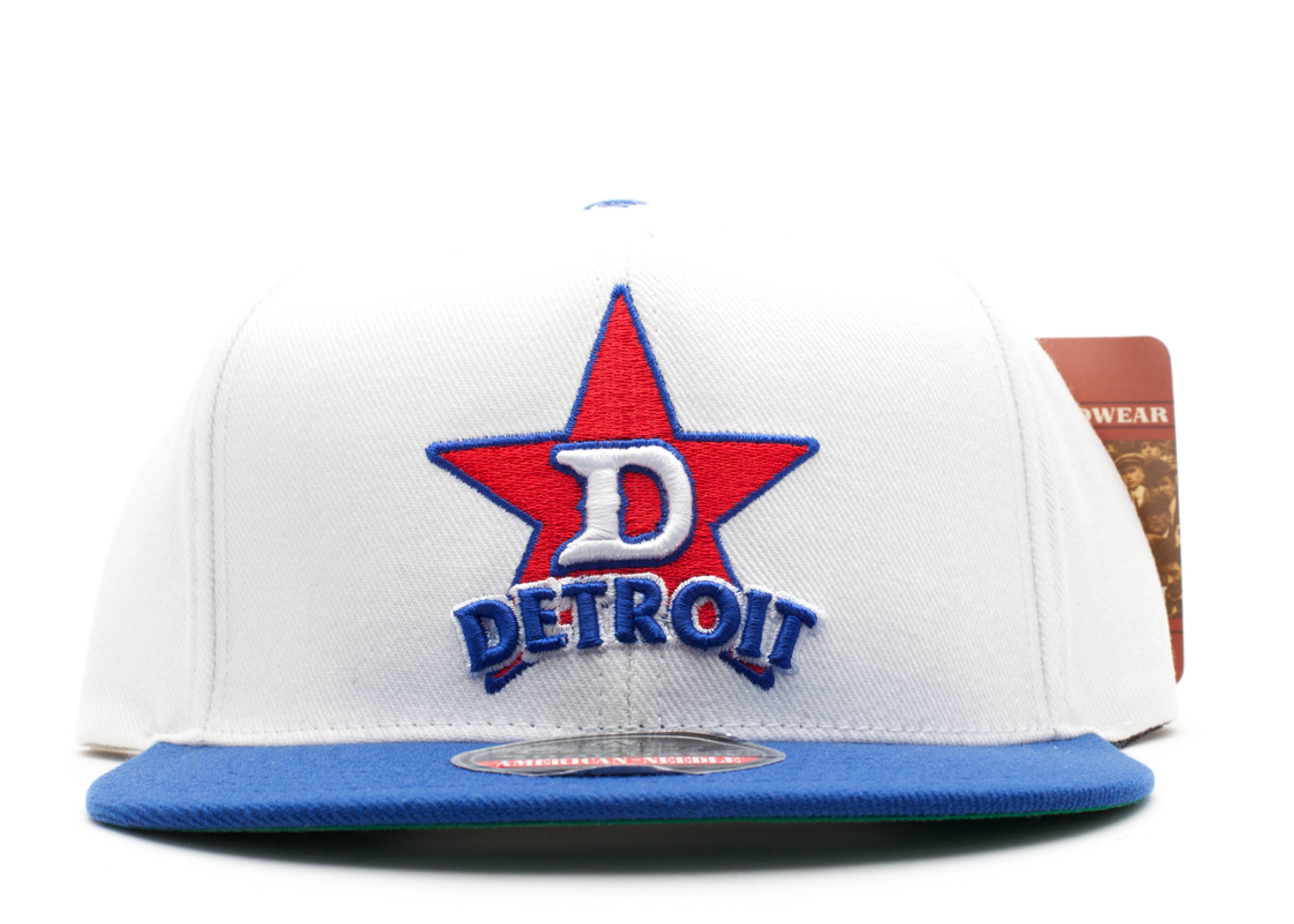 detroit stars snap-back